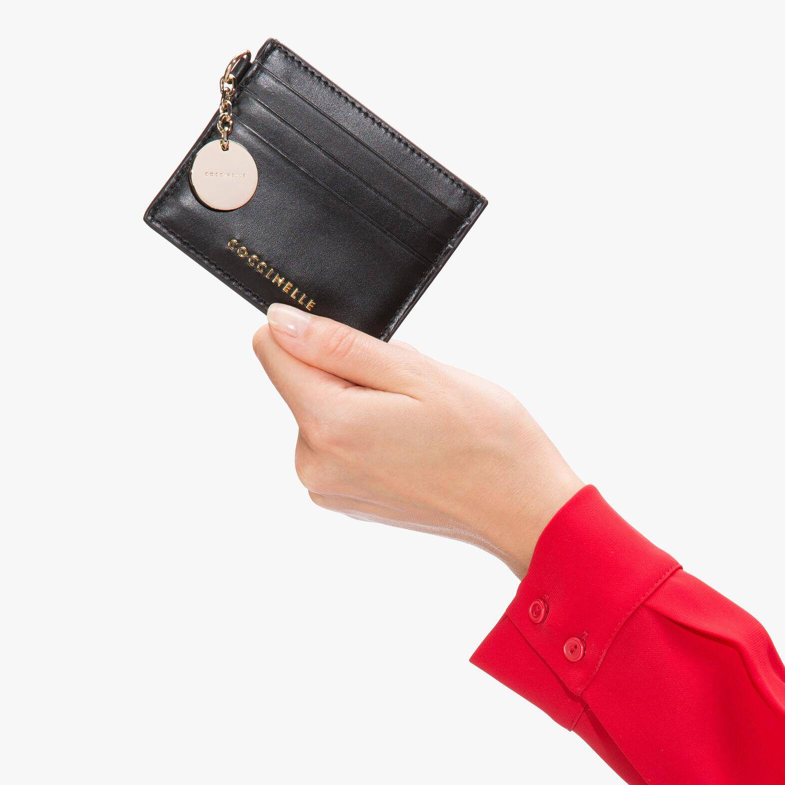 Leather document holder