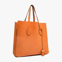 Coccinelle Celene suede shopping tote