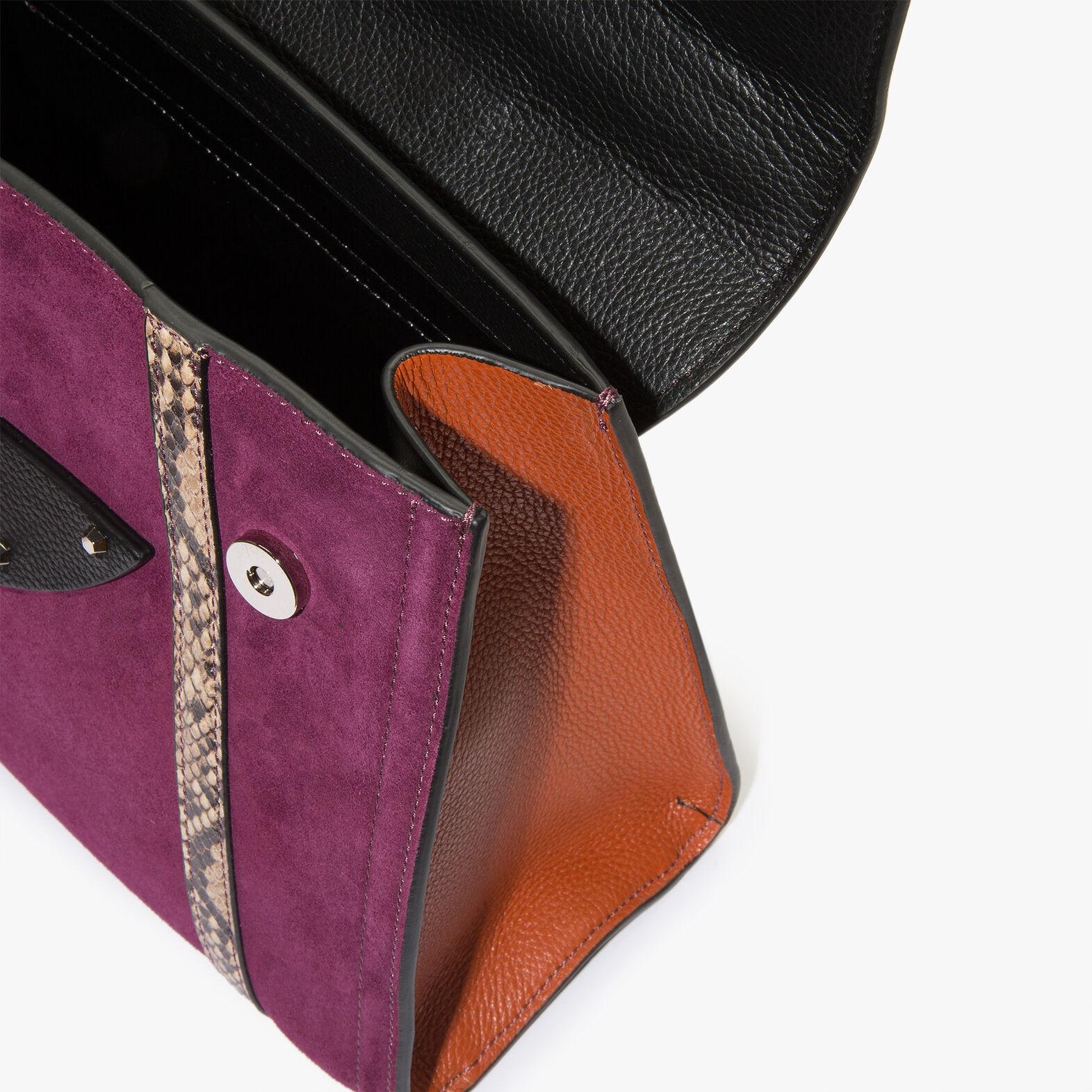 B14 suede handbag