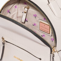 Clementine saffiano mini backpack