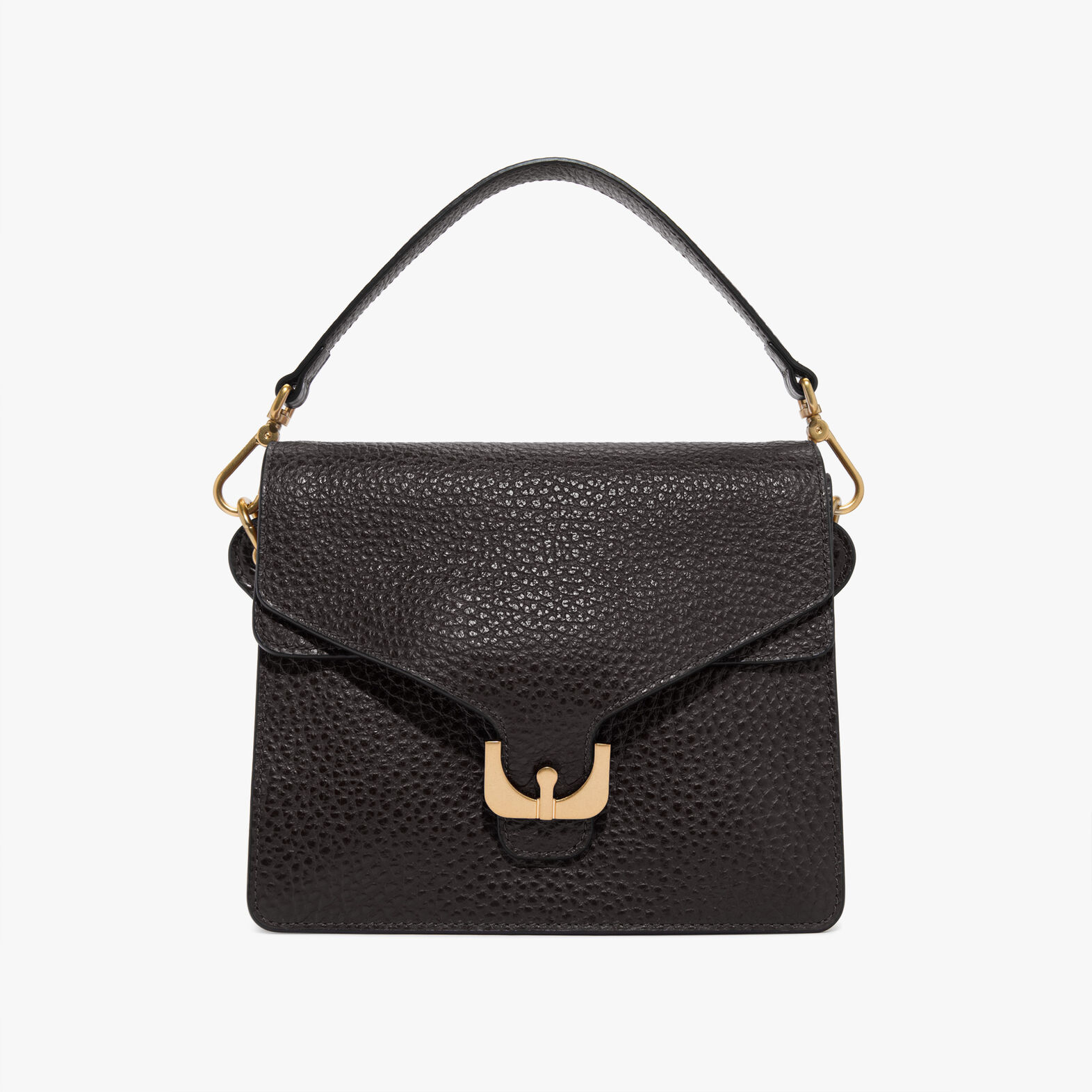 Coccinelle Ambrine leather bag with a single strap