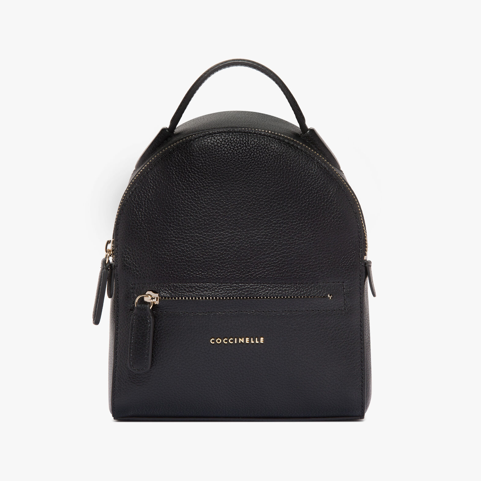 Clementine leather mini backpack