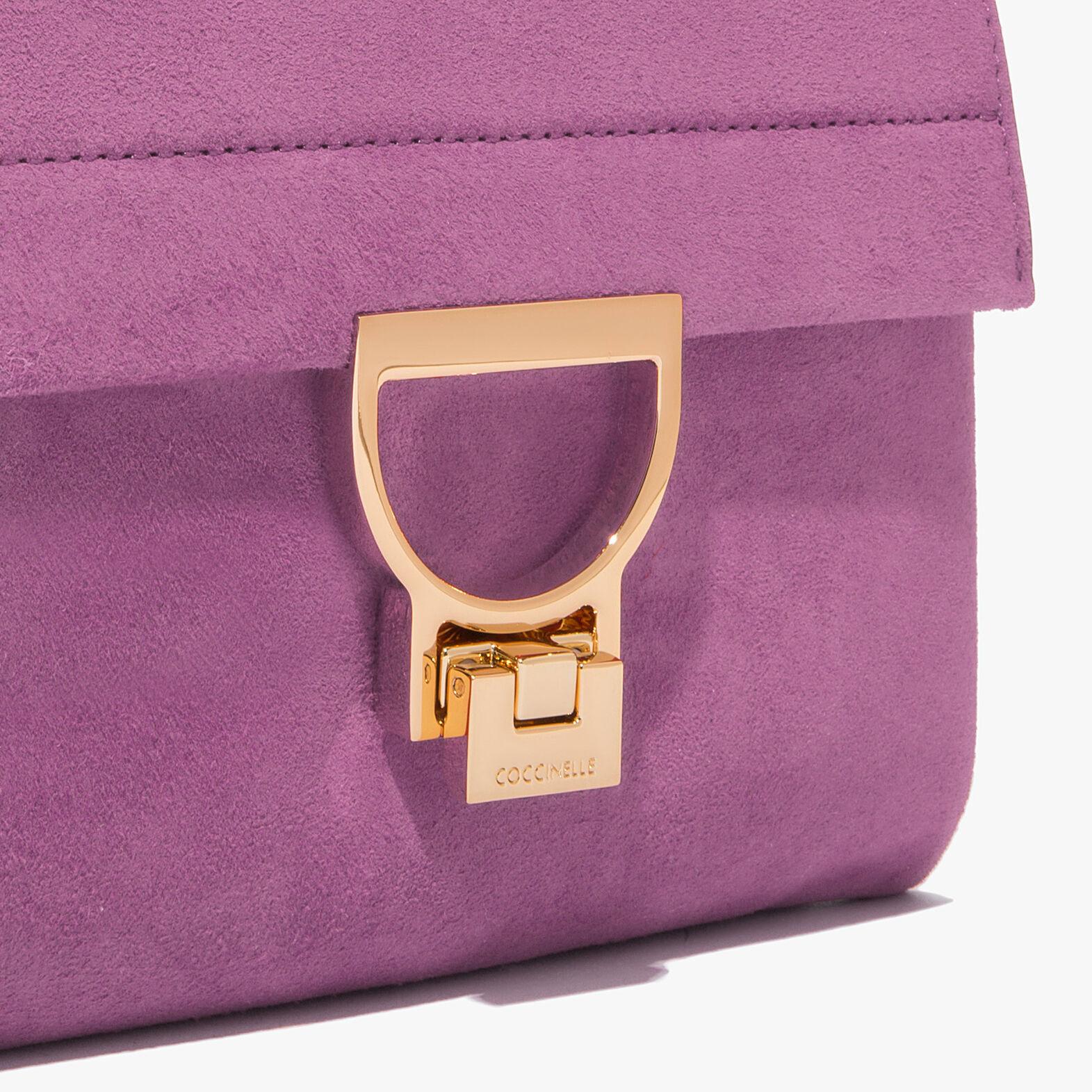 Coccinelle Arlettis suede mini bag