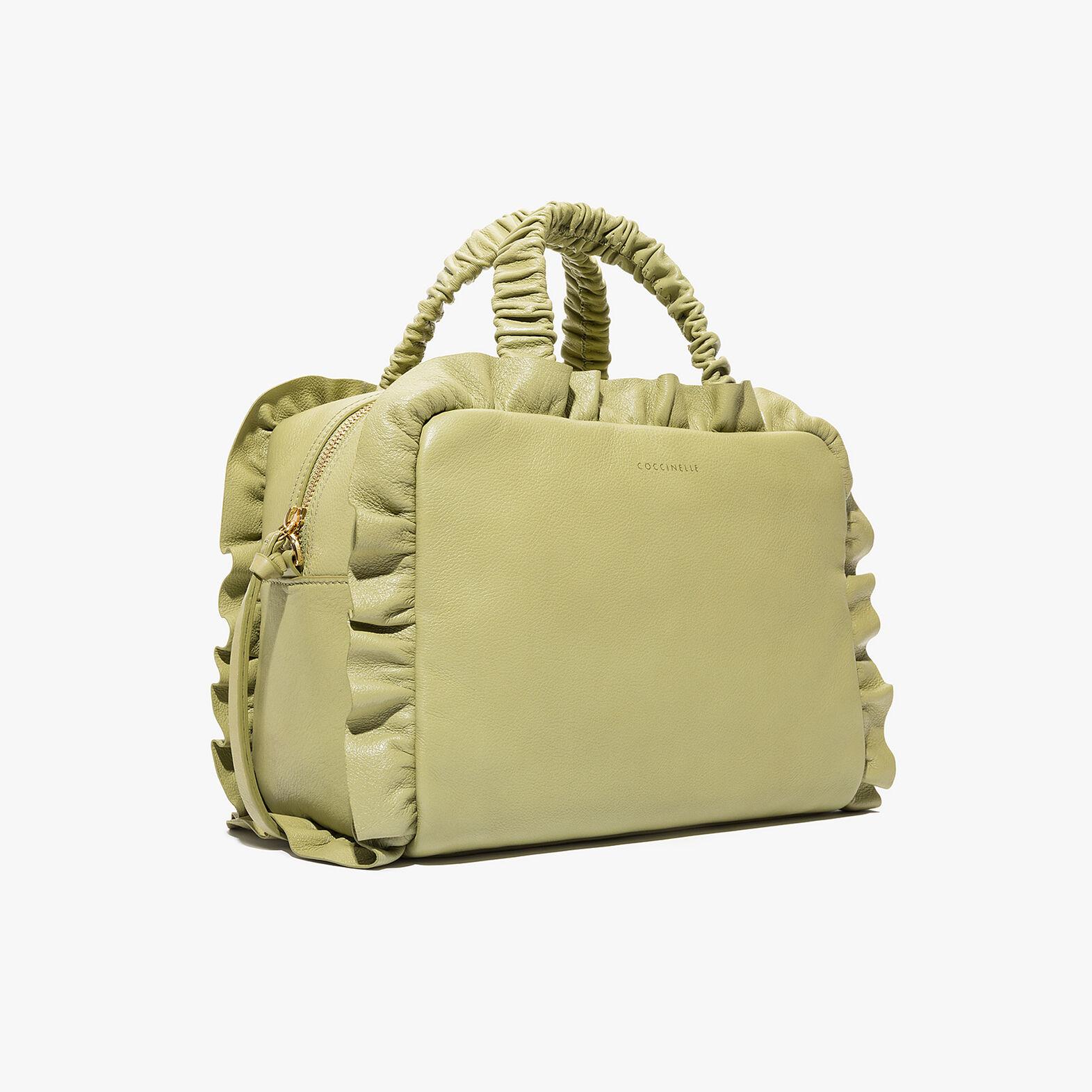 Brune leather handbag