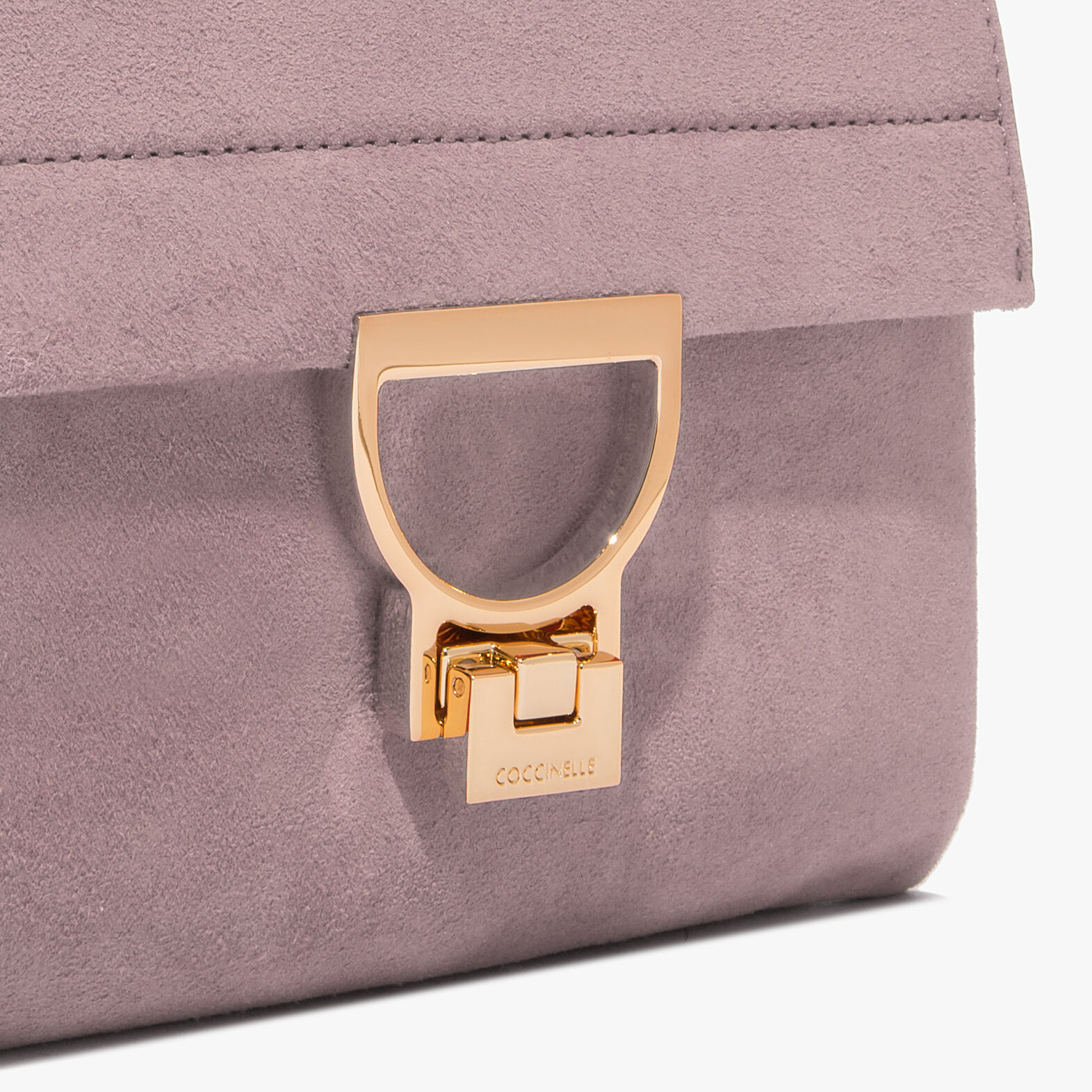 Suede leather bag