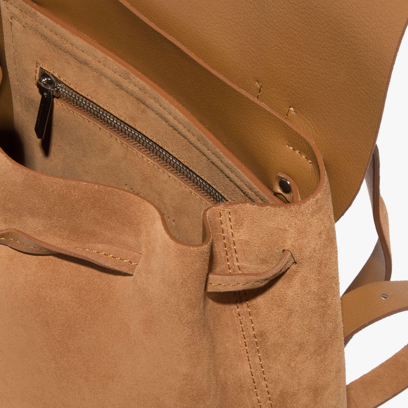 Coccinelle Suede backpack