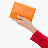 Coccinelle Saffiano leather wallet
