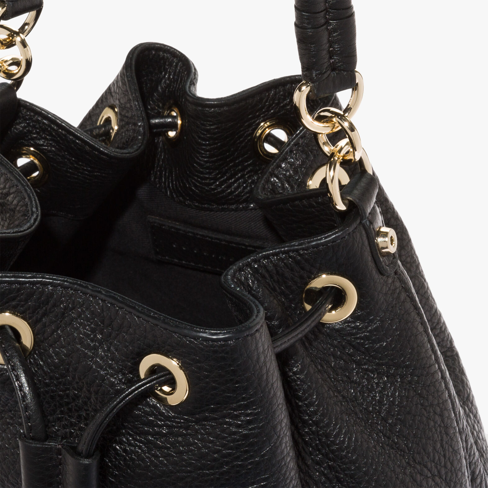 Coccinelle Leonie leather bucket bag