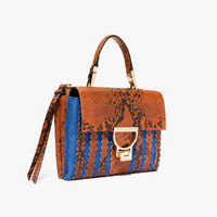 Coccinelle Arlettis suede and leather mini bag