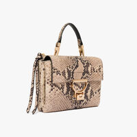 Coccinelle Arlettis python-print leather mini bag