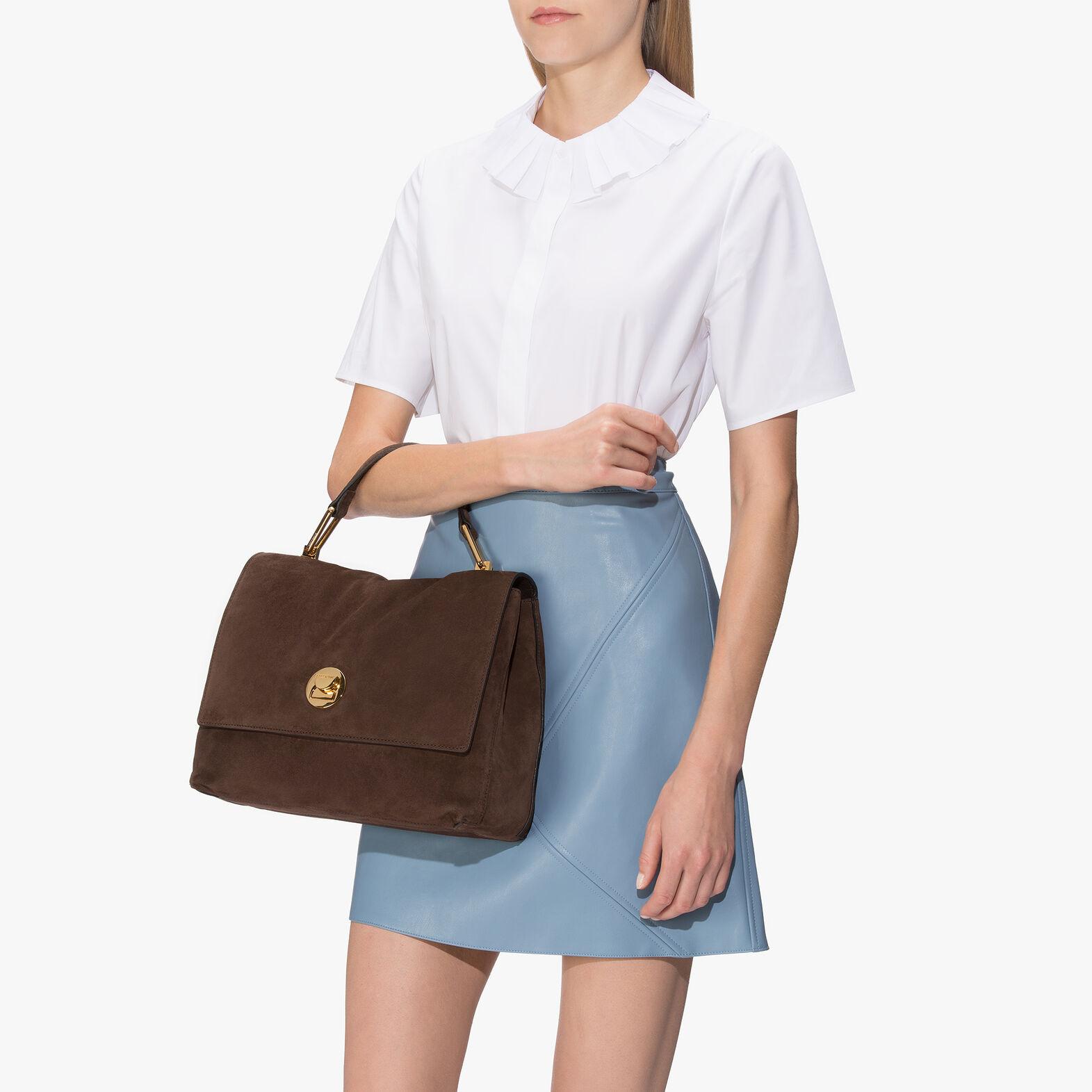 Liya suede handbag