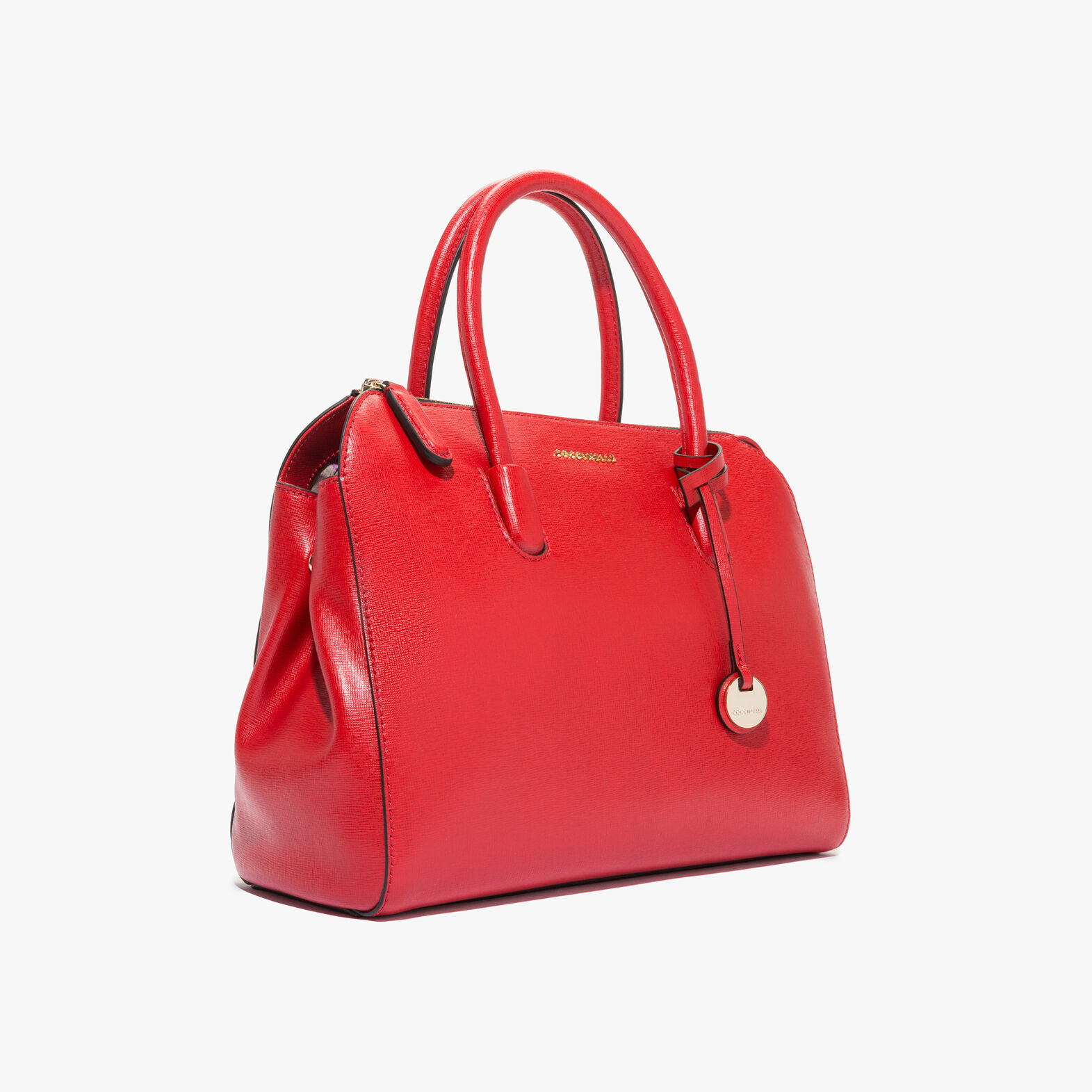 Coccinelle Clementine saffiano leather handbag