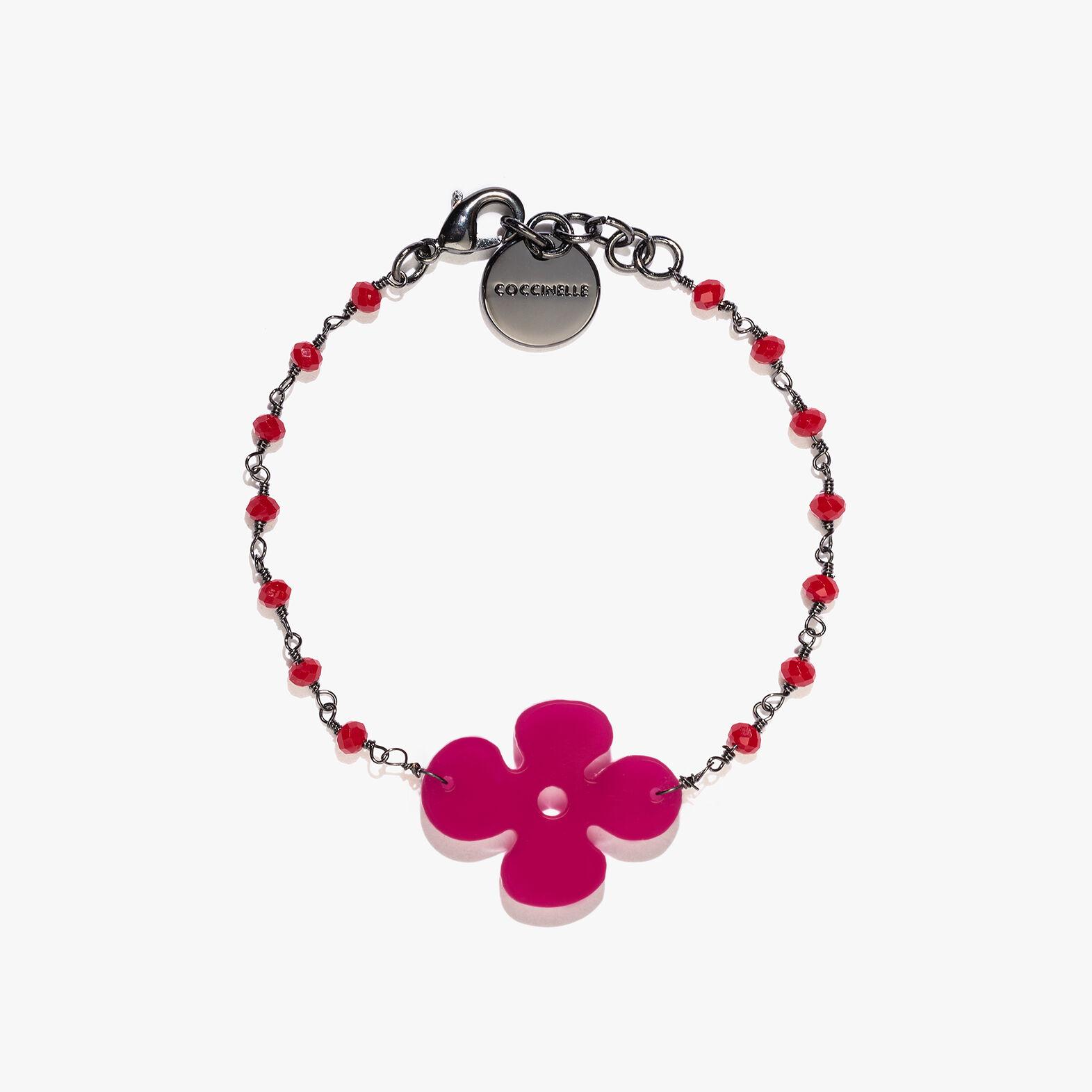 Plexiglas and crystal bracelet