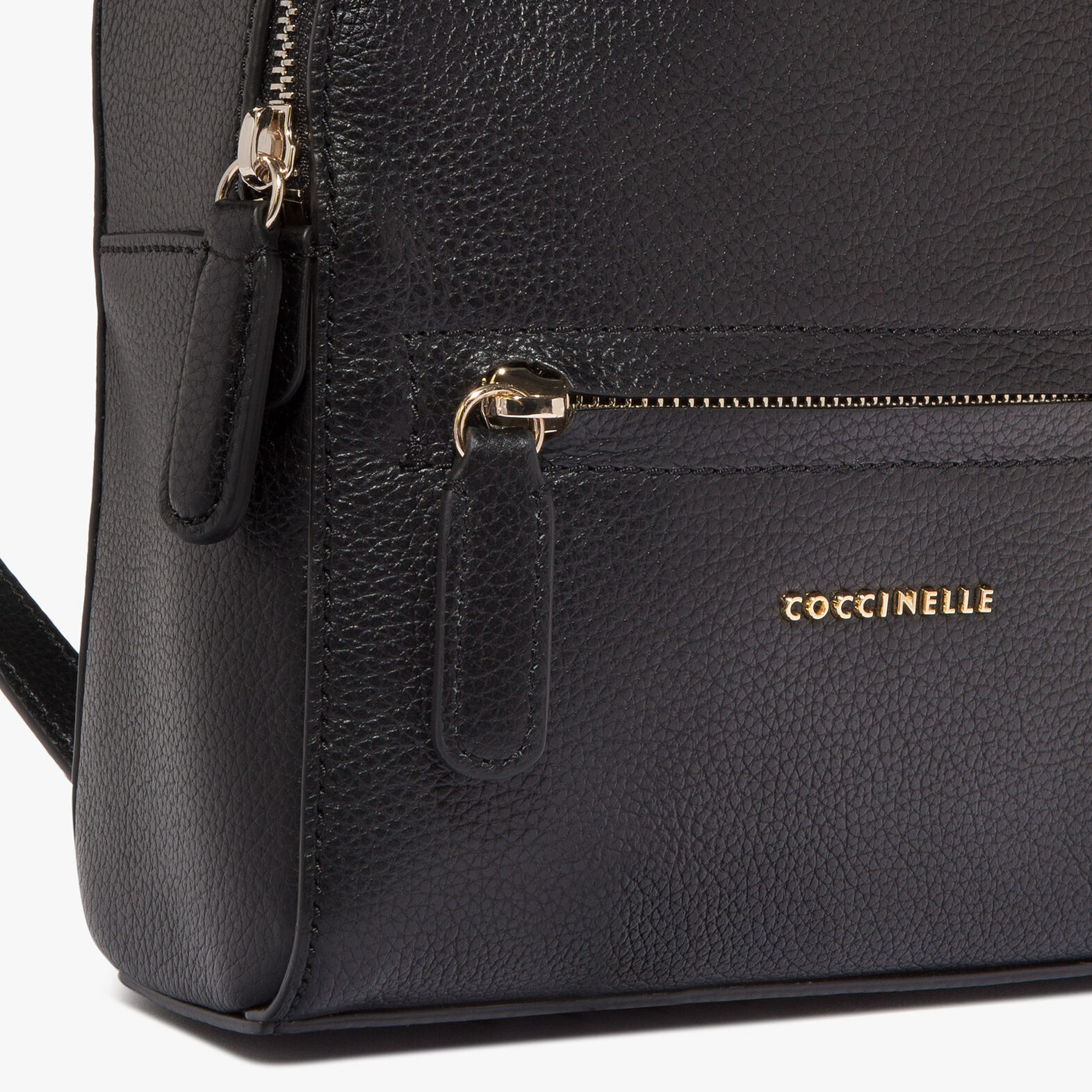 Coccinelle Clementine leather mini backpack