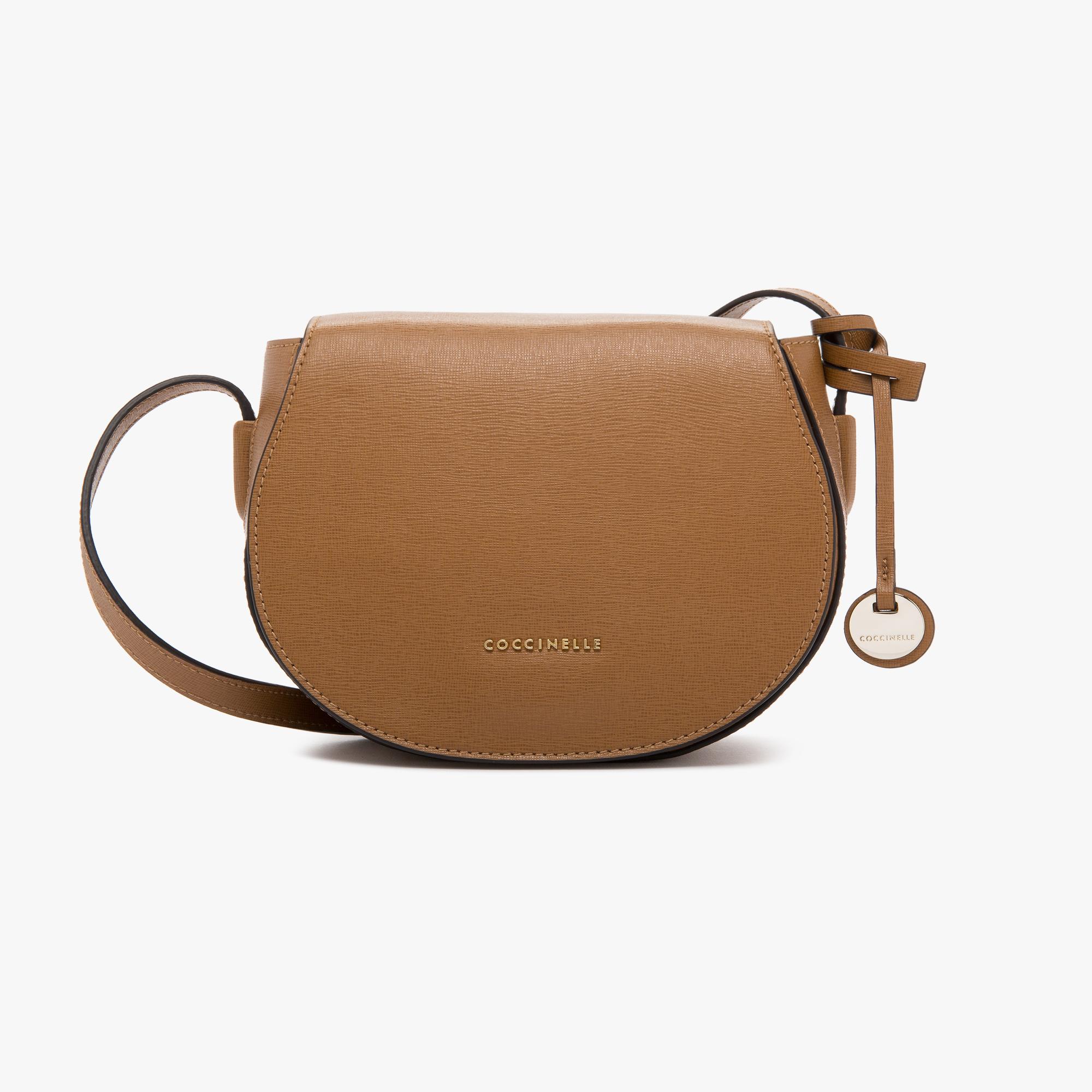 Clementine saffiano leather bandolier bag