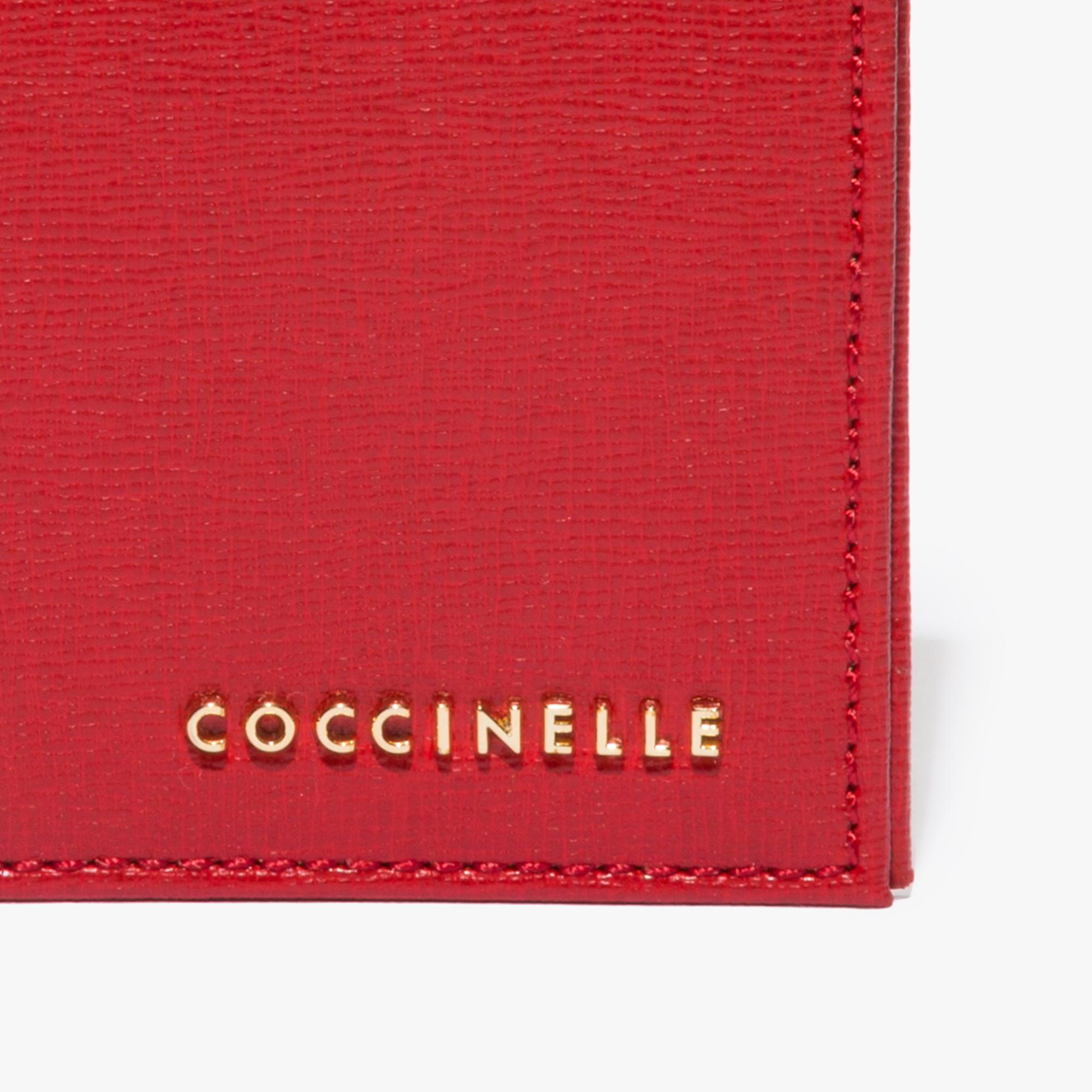Coccinelle Saffiano document holder