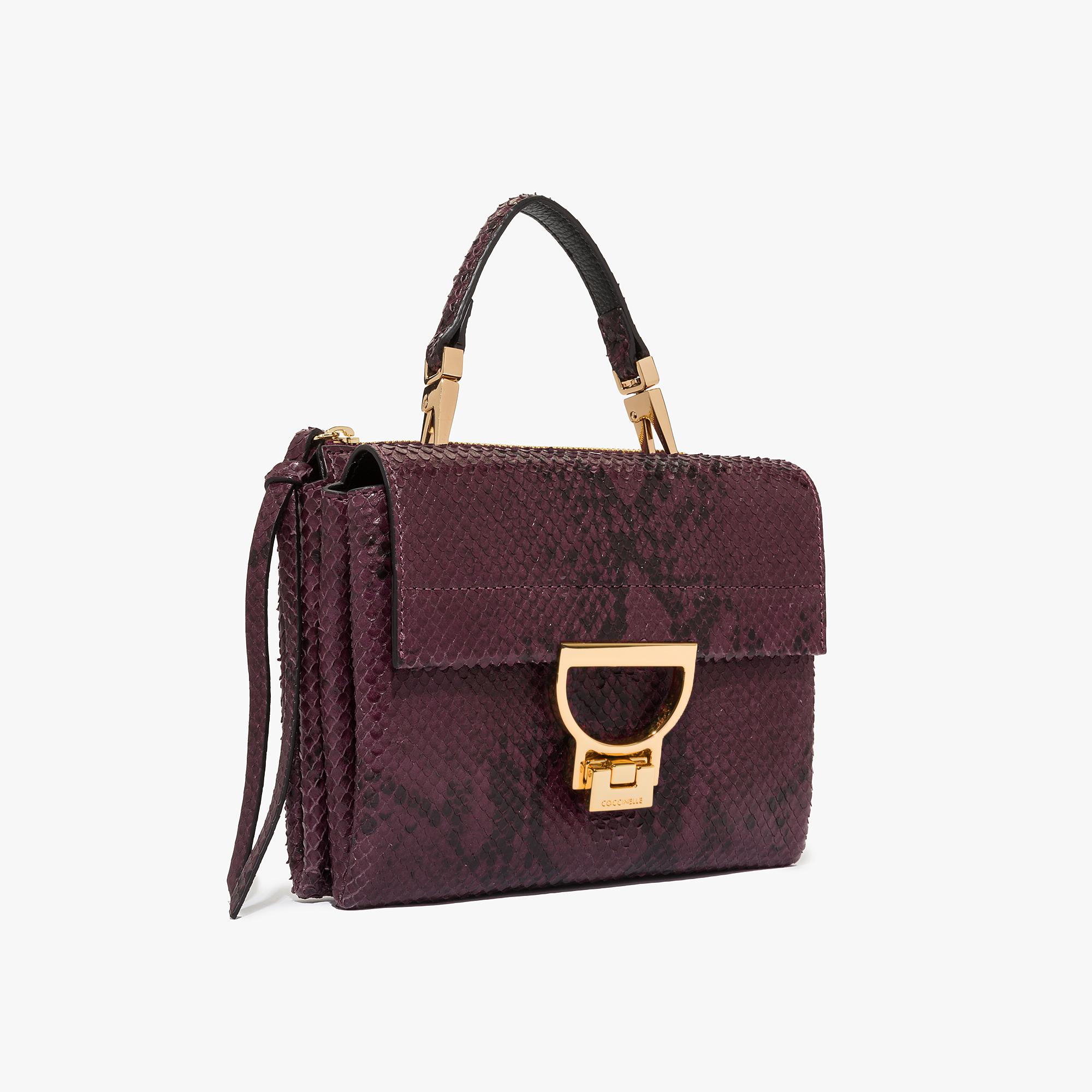 Coccinelle Arlettis python-print leather mini bag