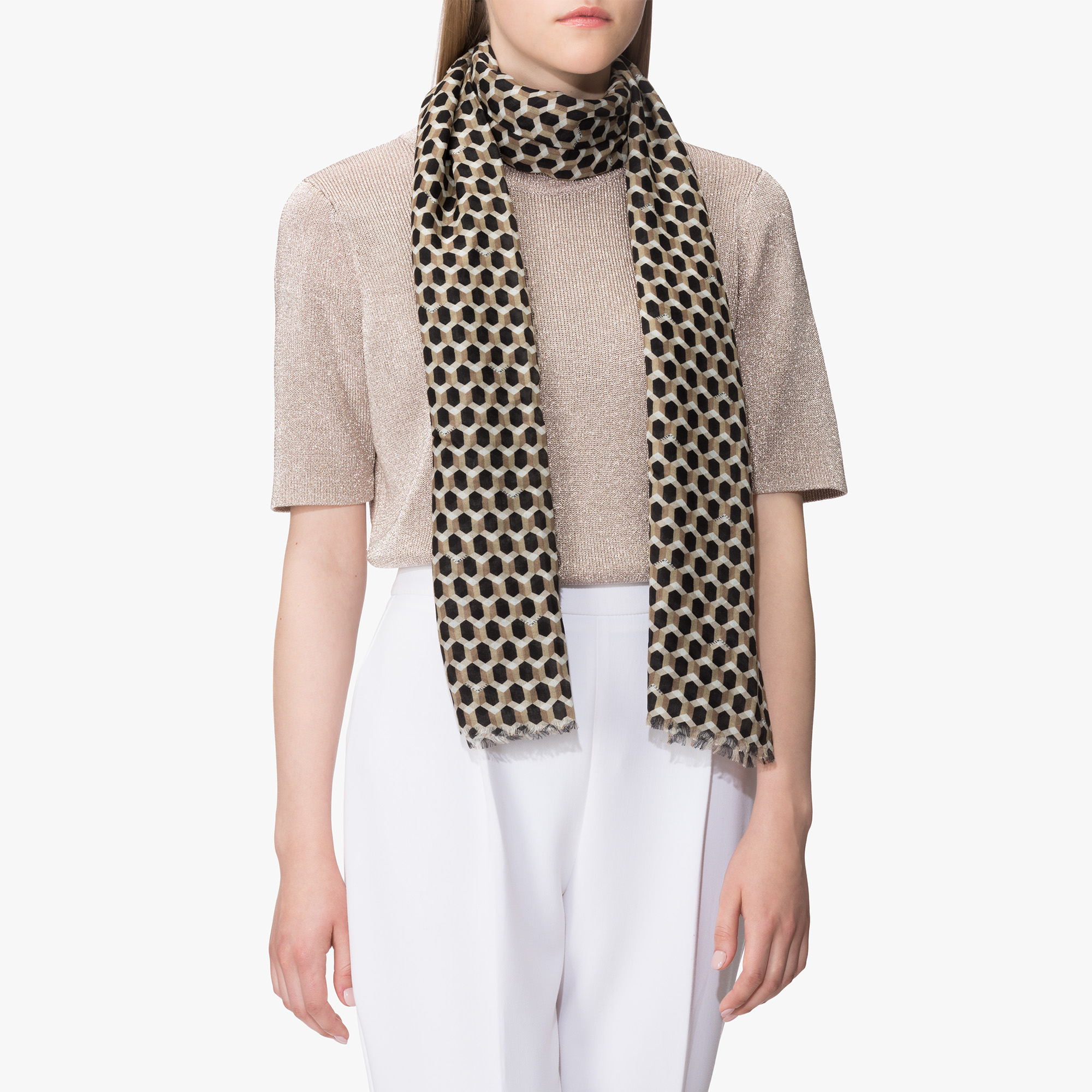 Modal and wool stole