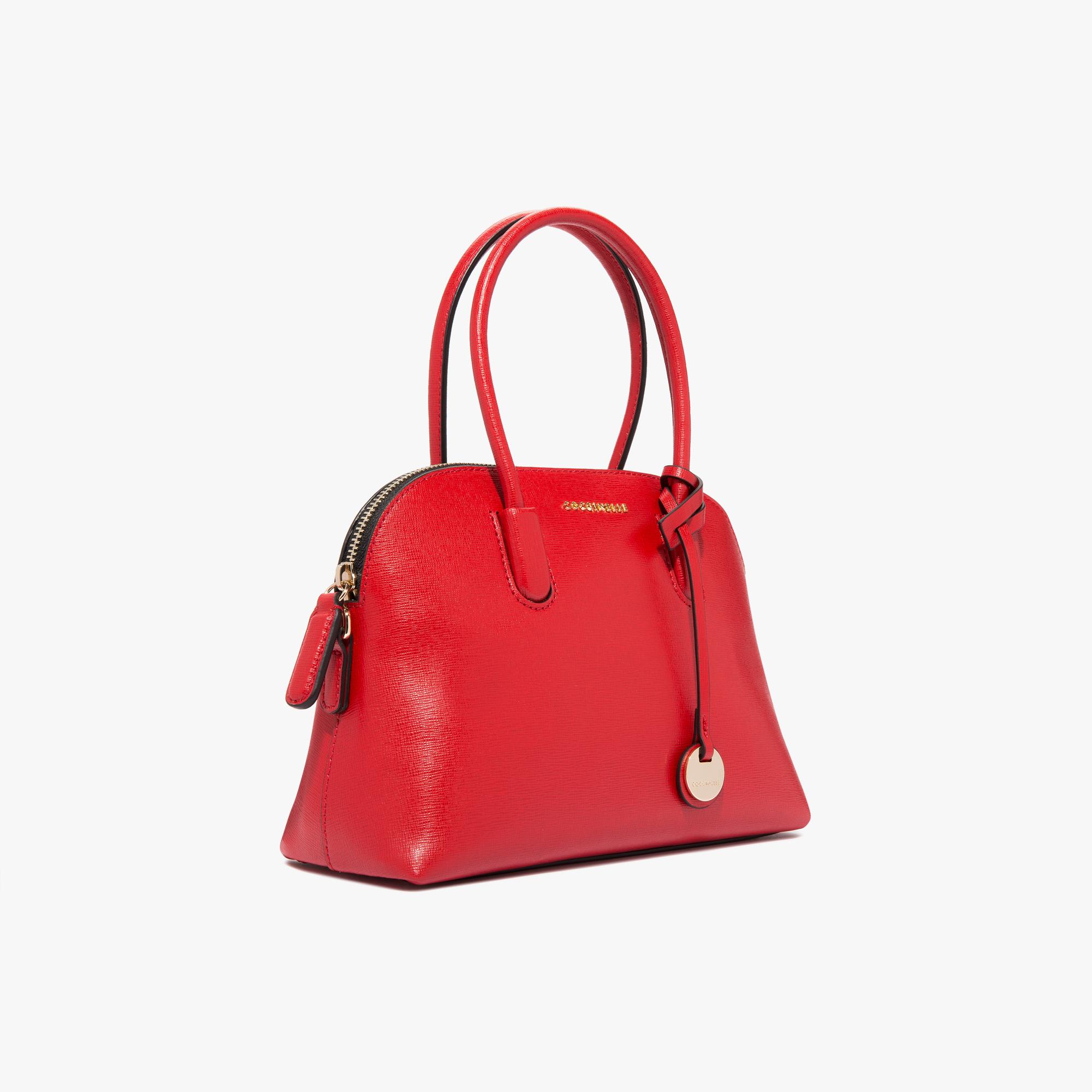 Coccinelle Clementine saffiano handbag