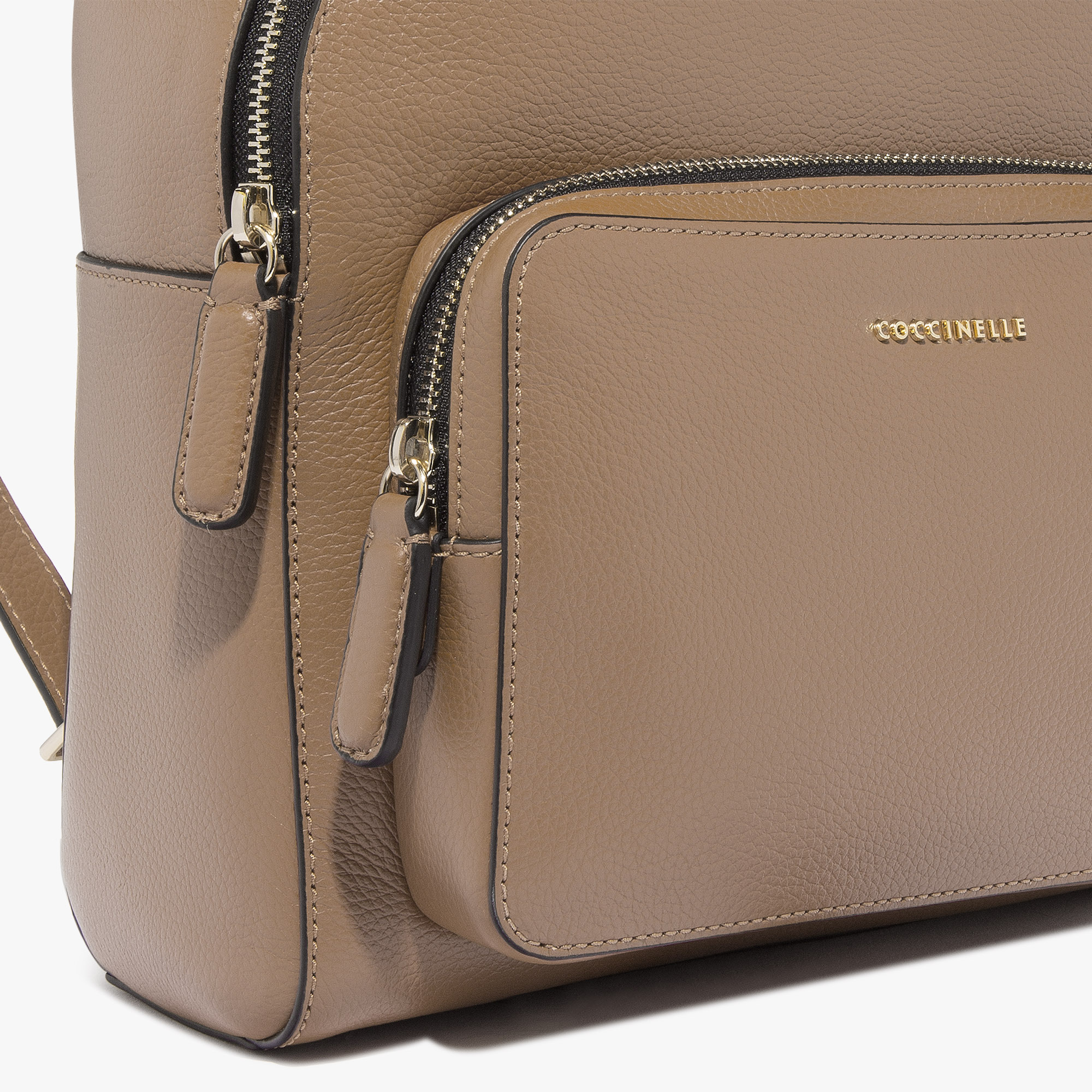 Coccinelle Clementine leather backpack bag