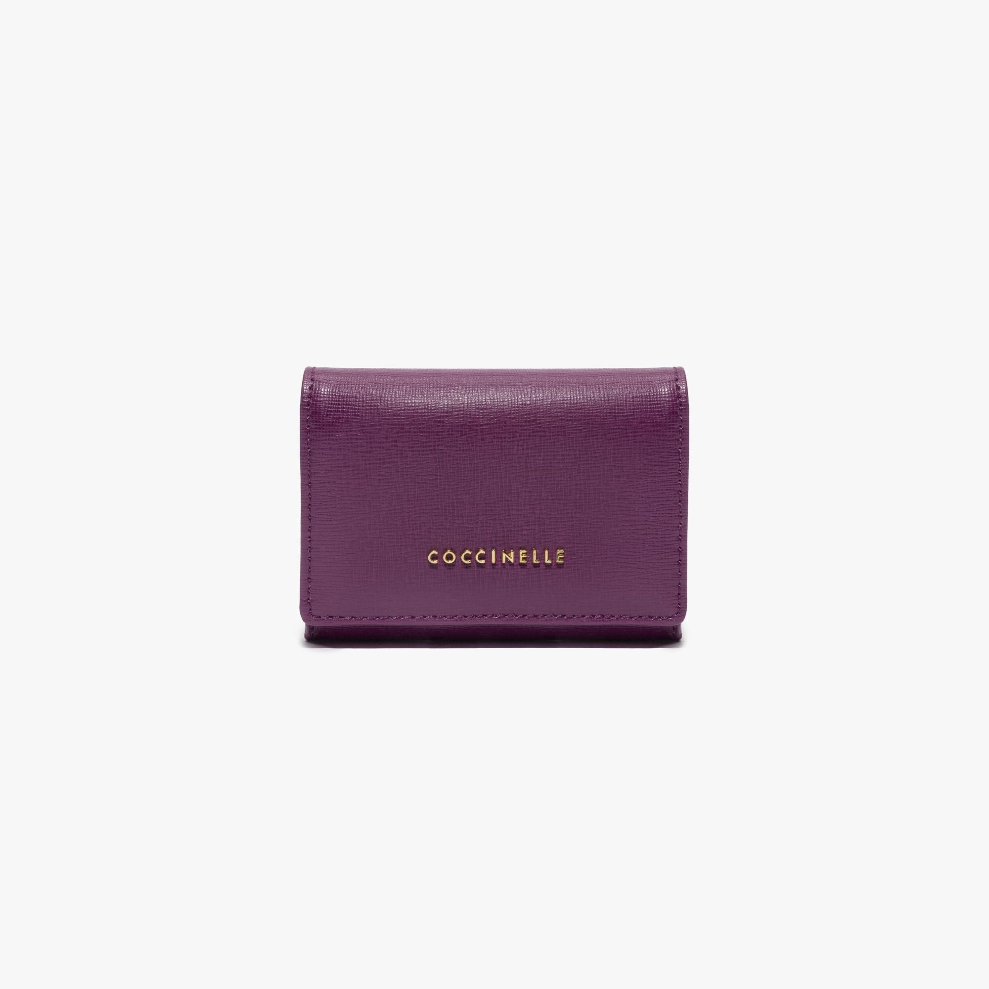 Saffiano credit card holder