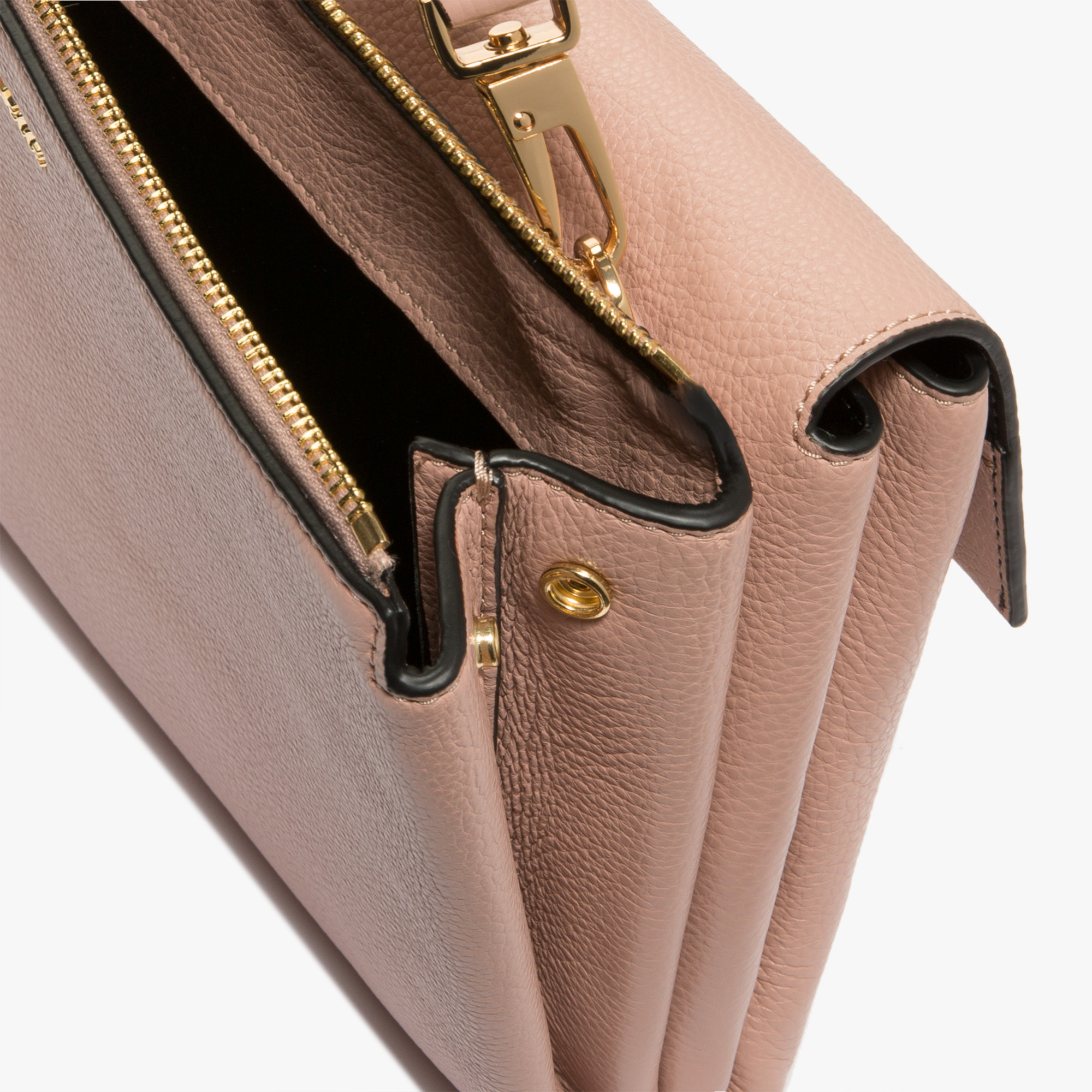 Coccinelle Arlettis leather bag with a single strap