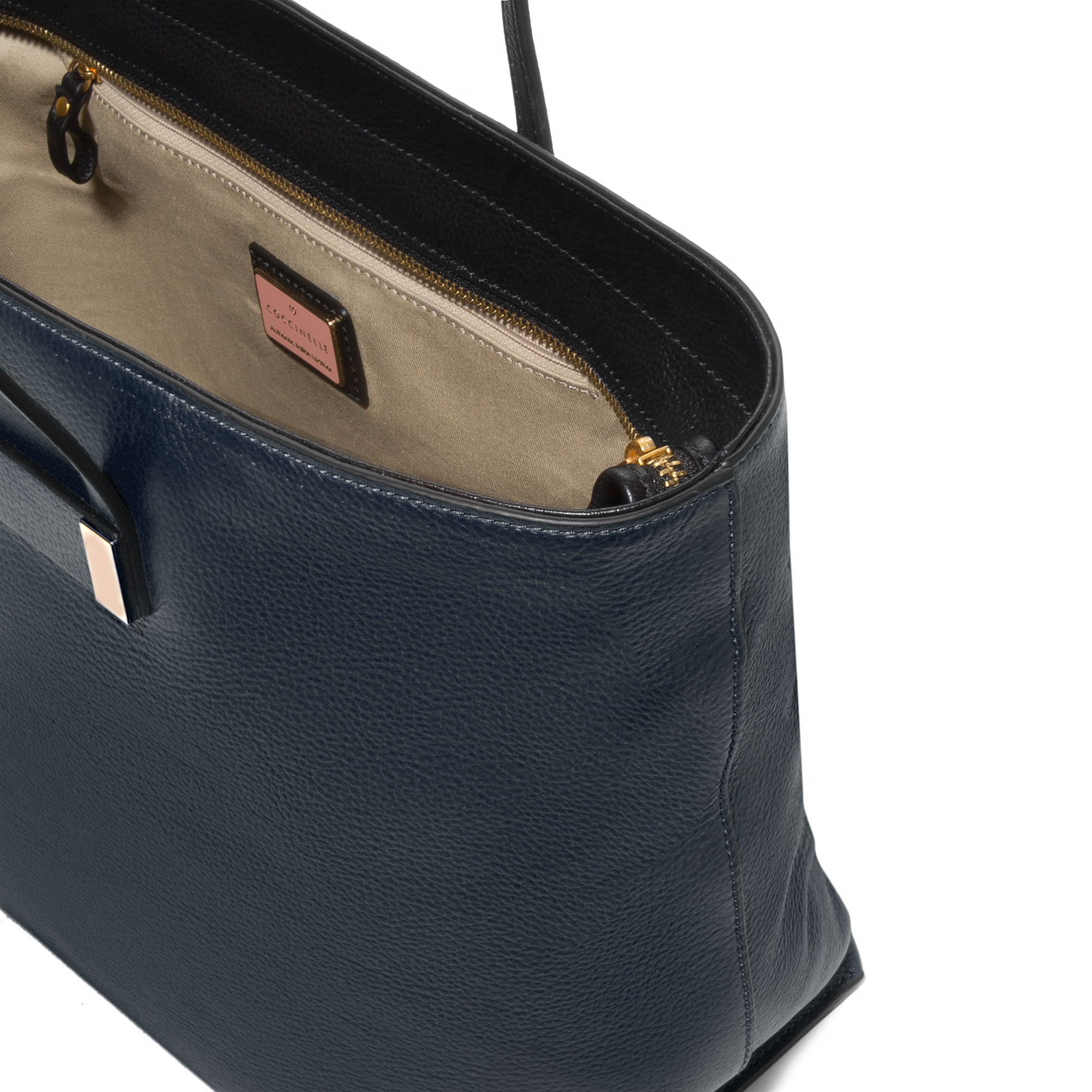 Coccinelle Auranne leather shopping tote