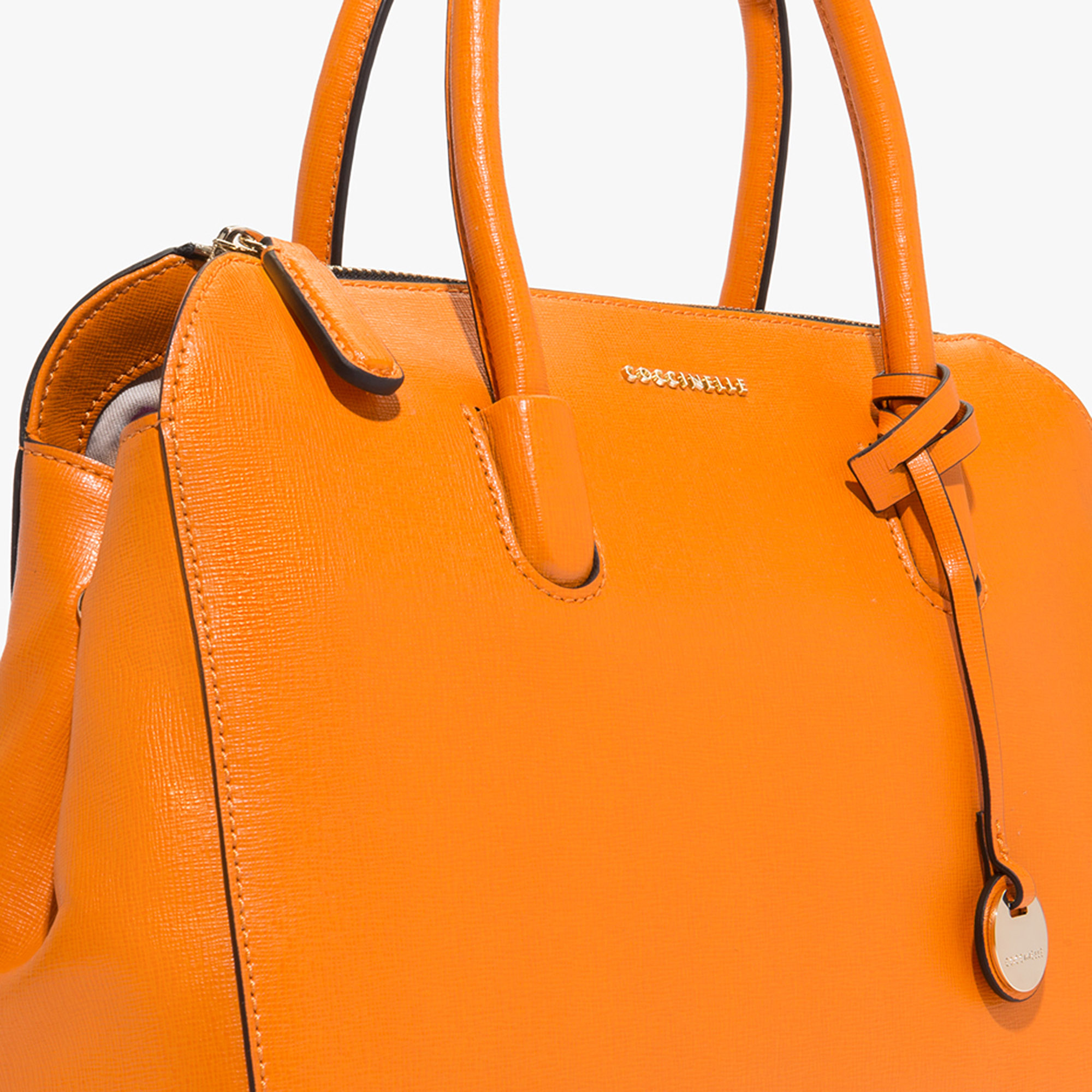 Coccinelle Clementine saffiano leather handbag