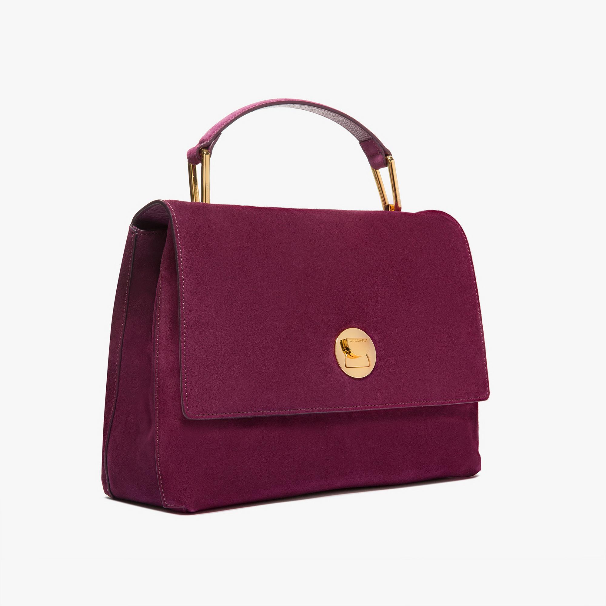 Coccinelle Liya suede handbag