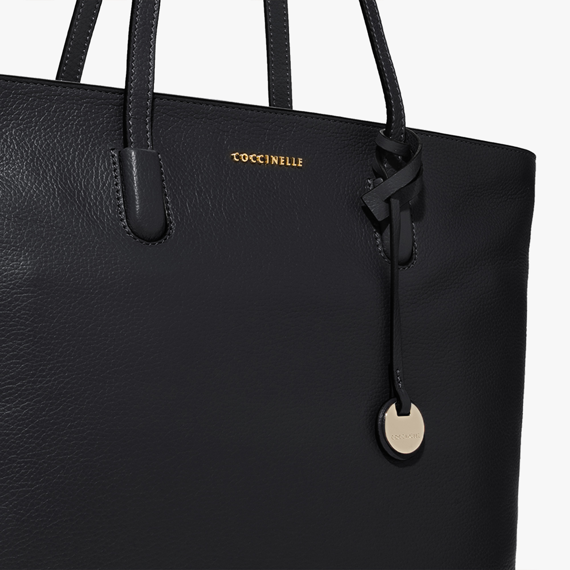 Coccinelle Clementine leather shopping tote