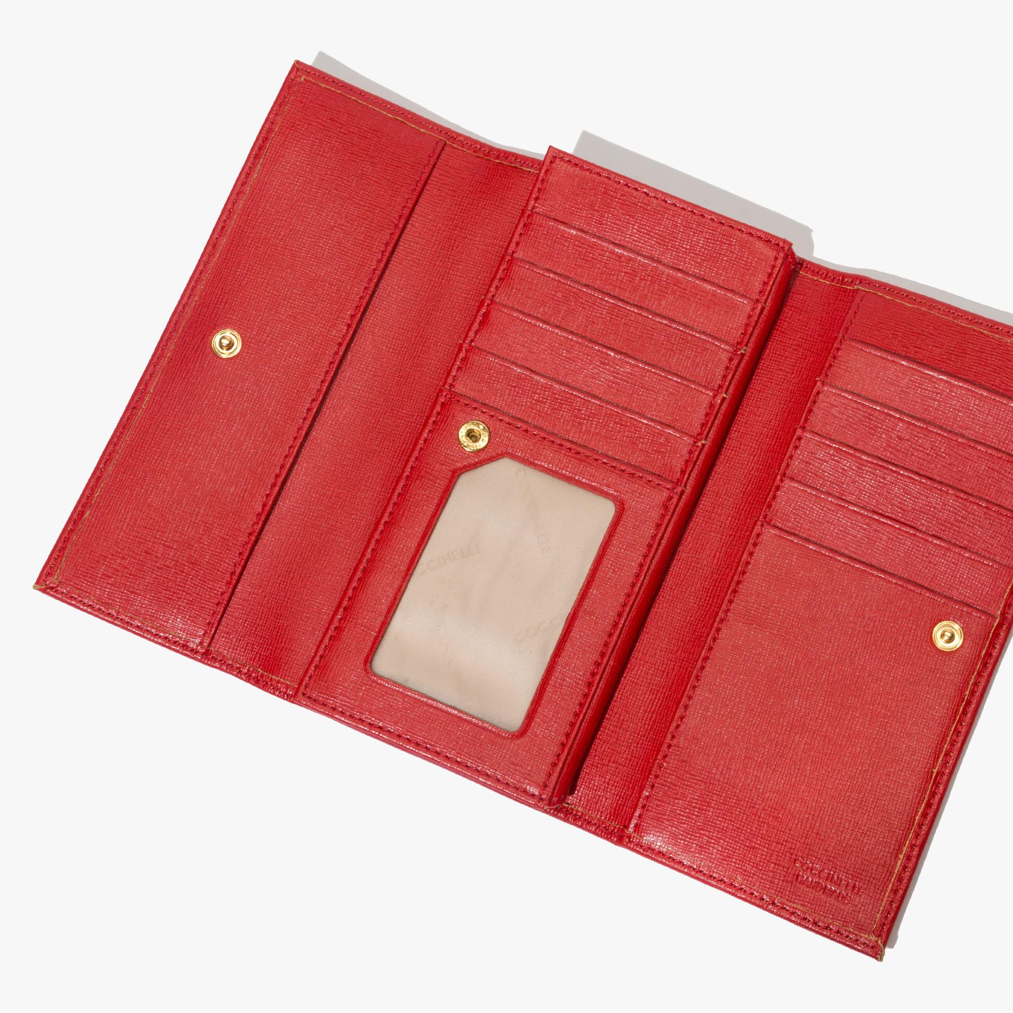 Saffiano wallet