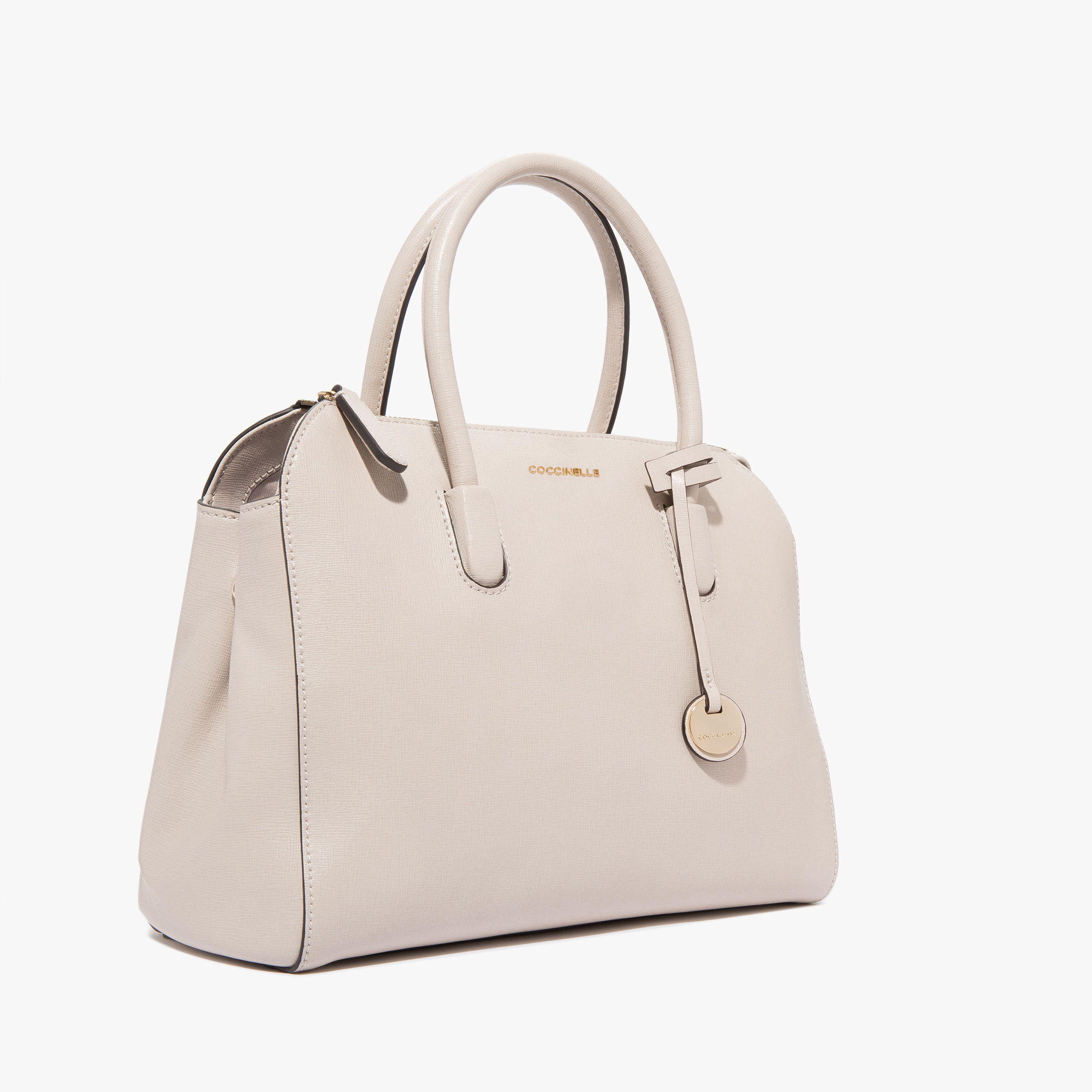 Clementine saffiano leather handbag