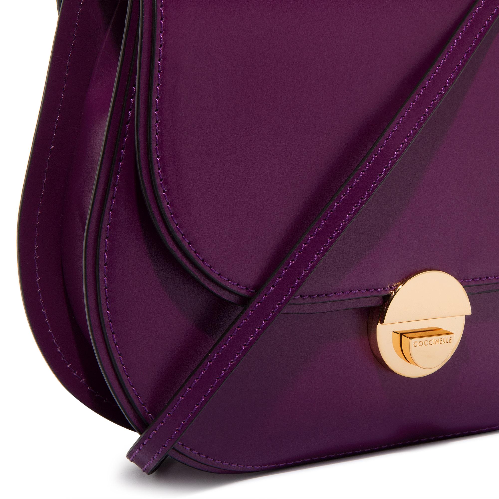Coccinelle Violaine leather crossbody bag