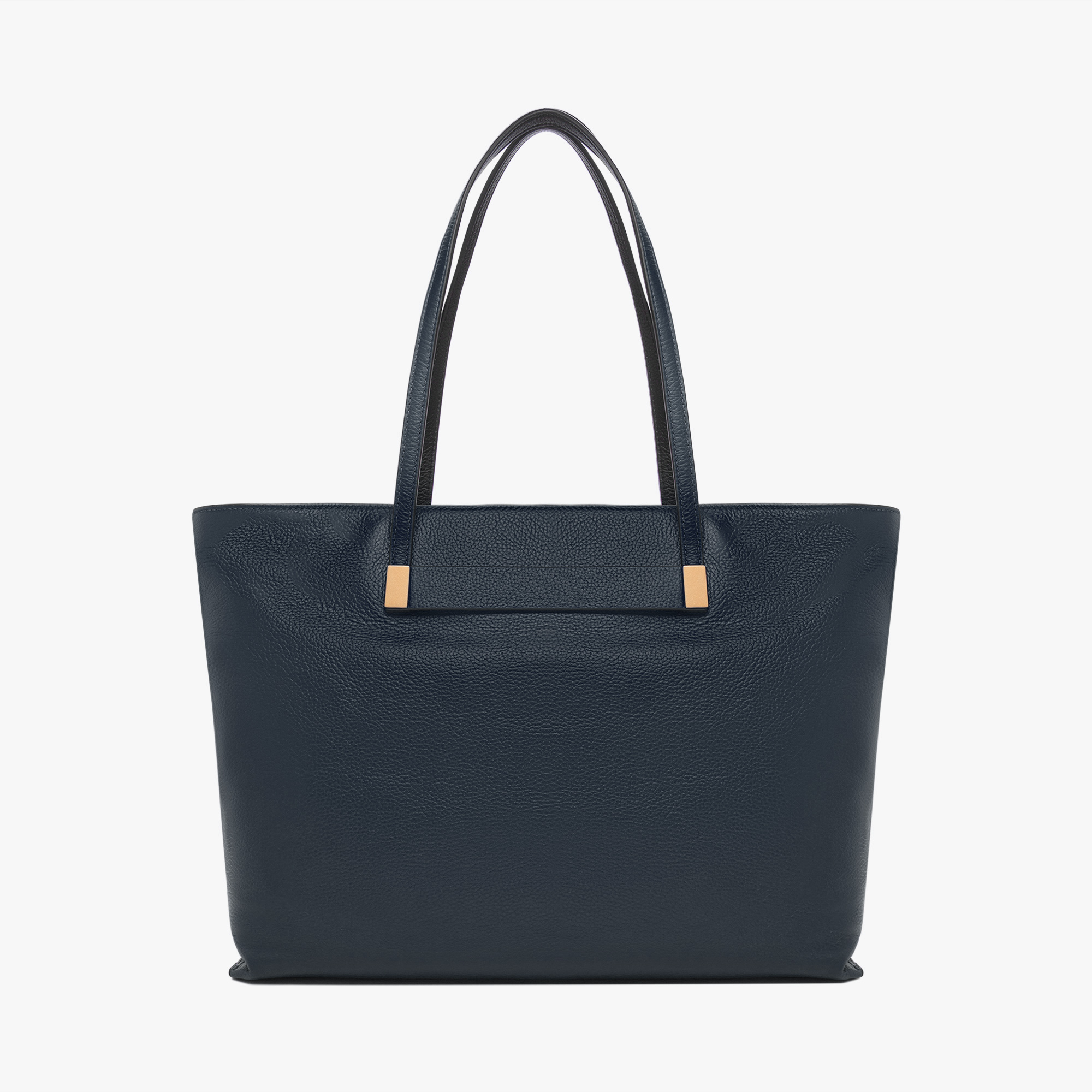 Auranne leather shopping tote