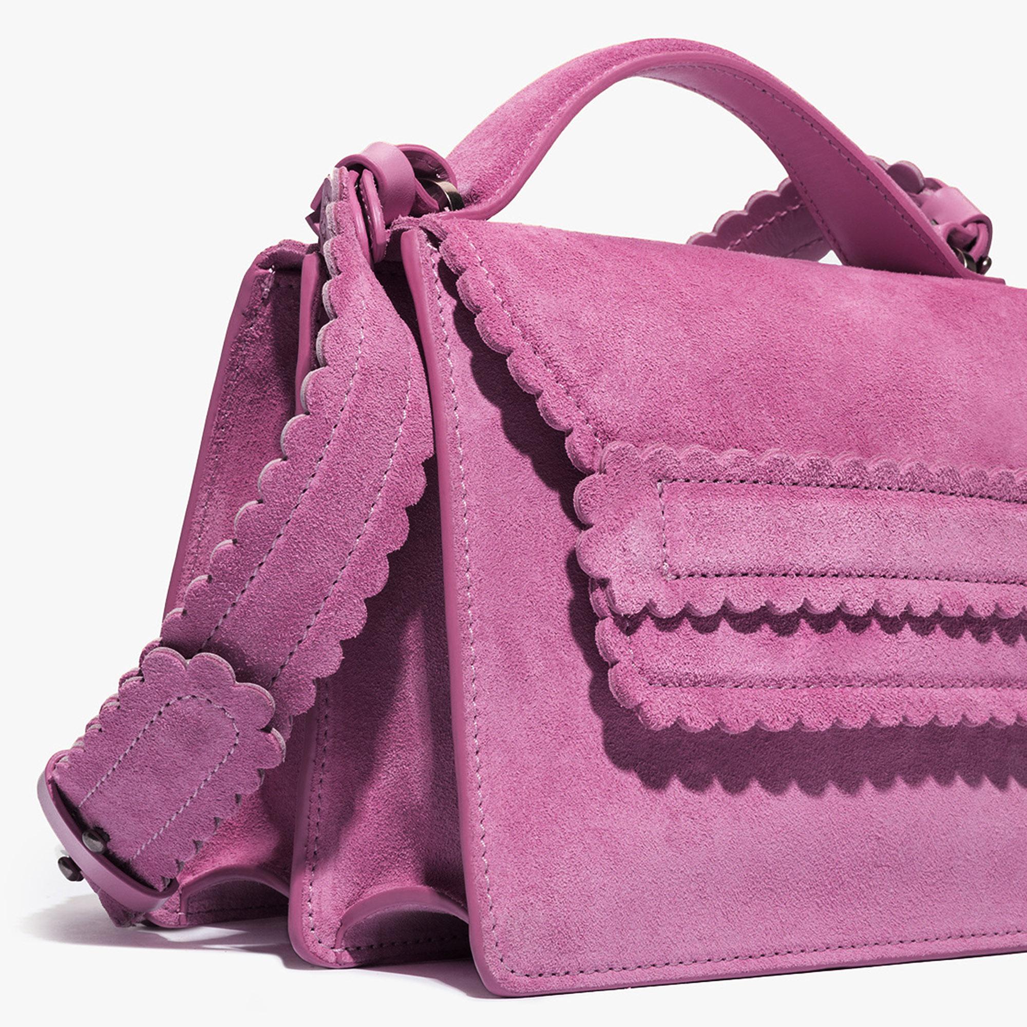 Coccinelle Leopoldine suede cross-body bag