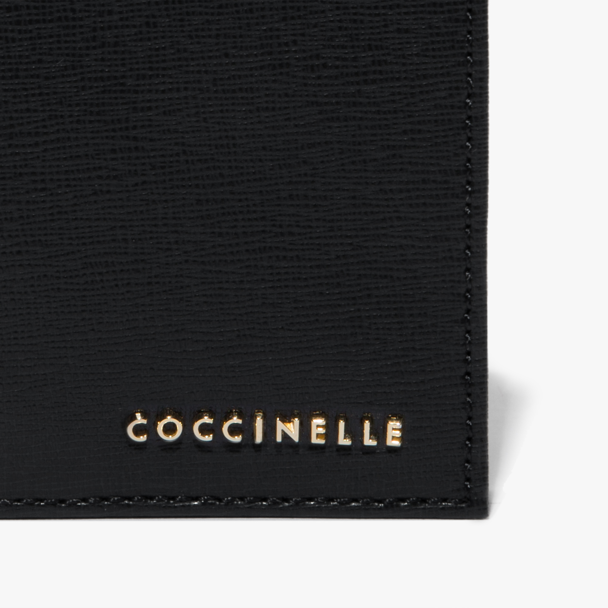 Coccinelle Saffiano document holder