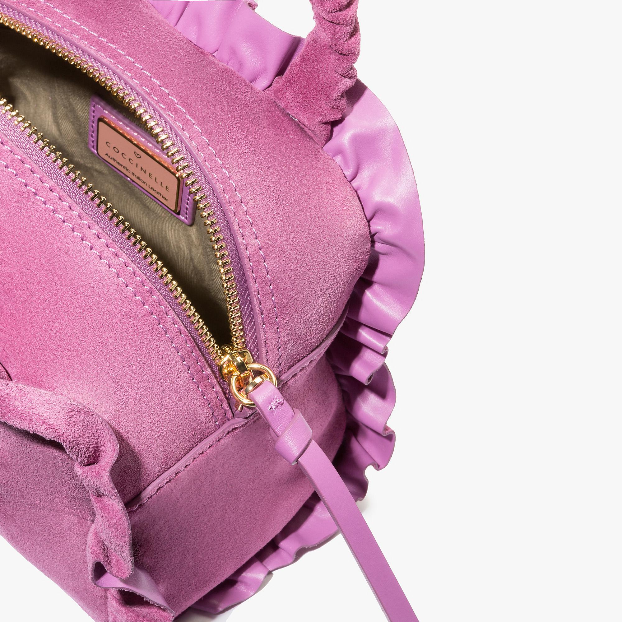 Coccinelle Brune suede minibag