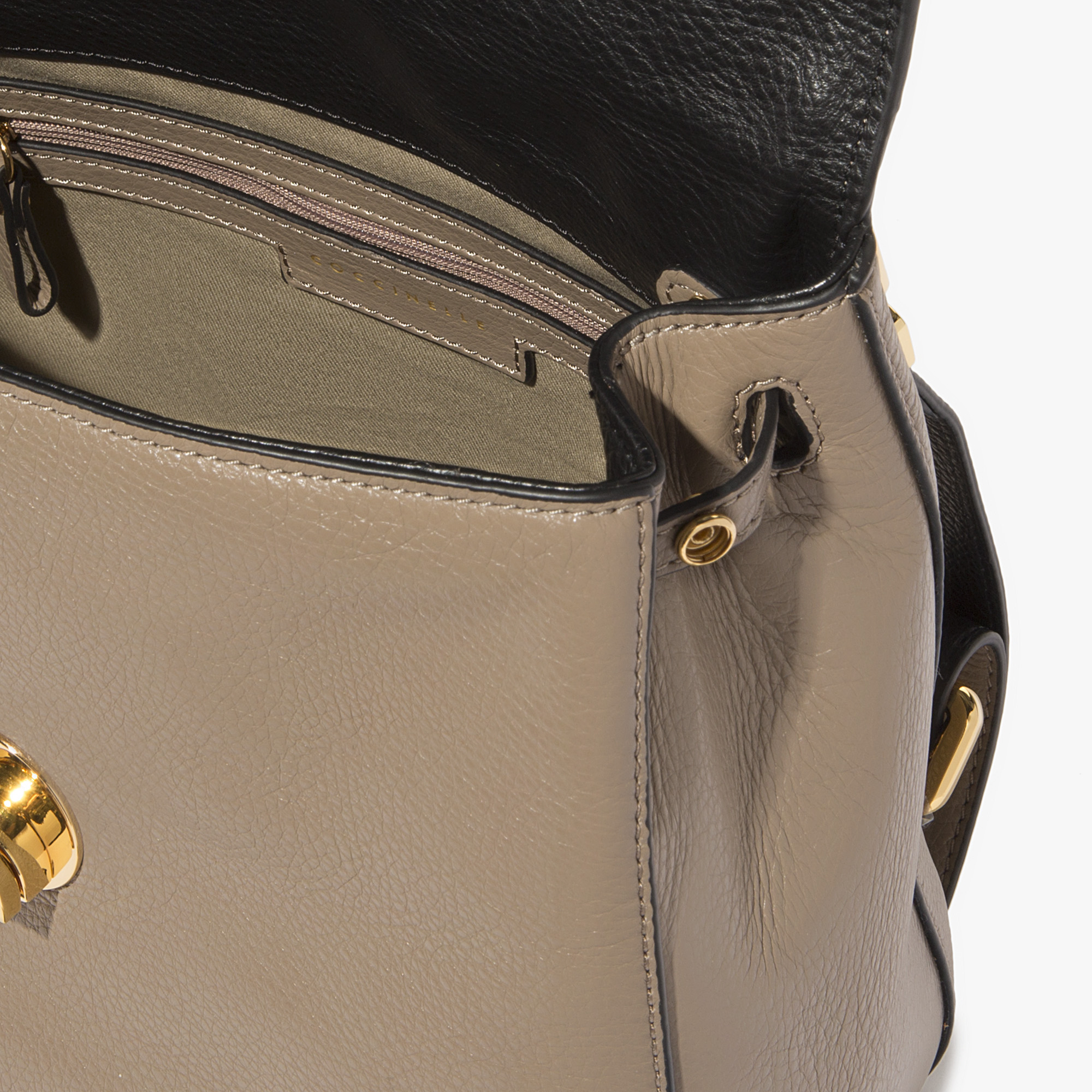 Liya leather mini backpack