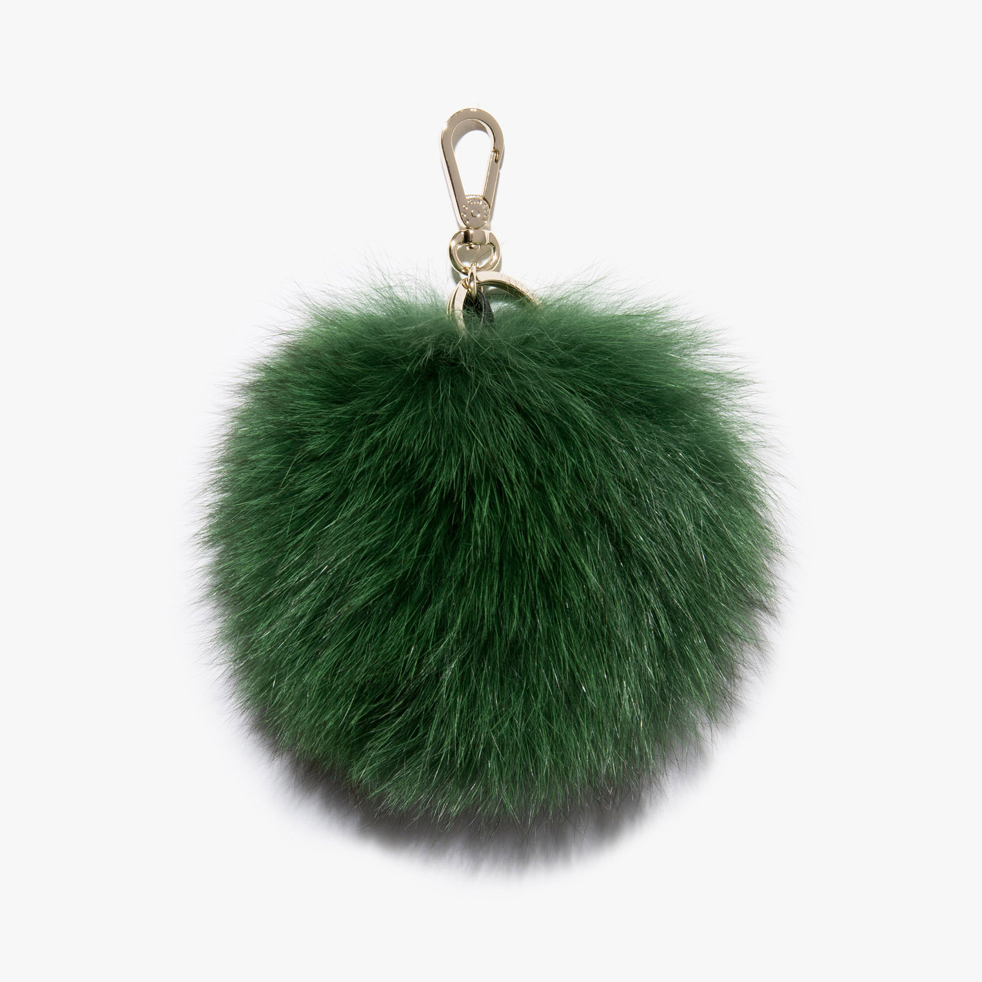 Coccinelle Leather keychain