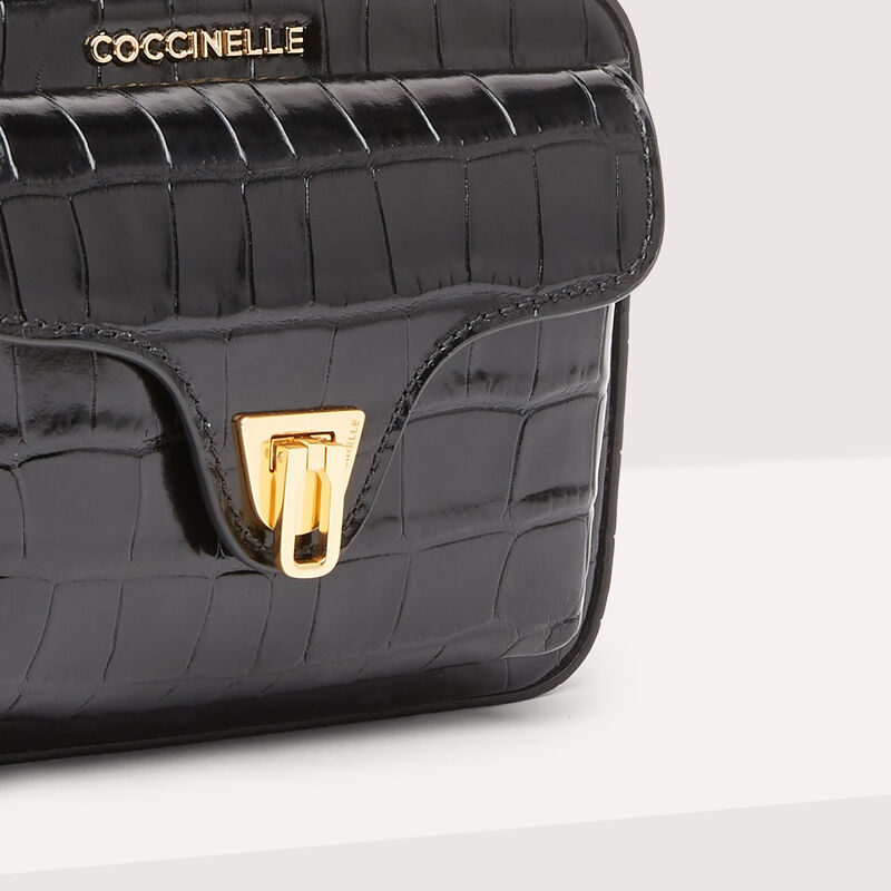 Coccinelle Beat Mini Croco