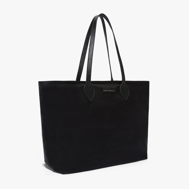 Annette Shopping tote in nylon and saffiano leather