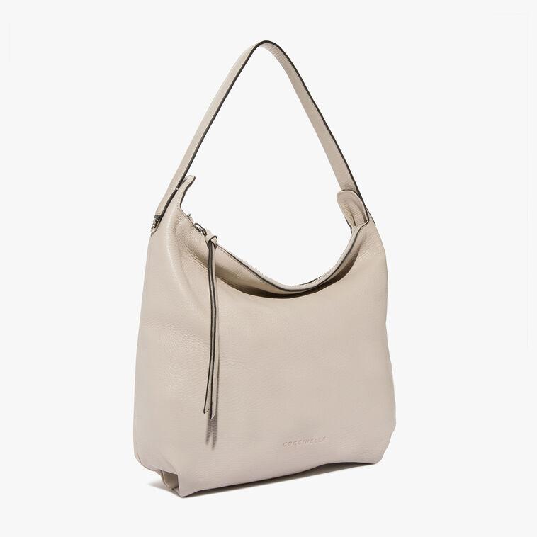 Mila leather shoulder bag