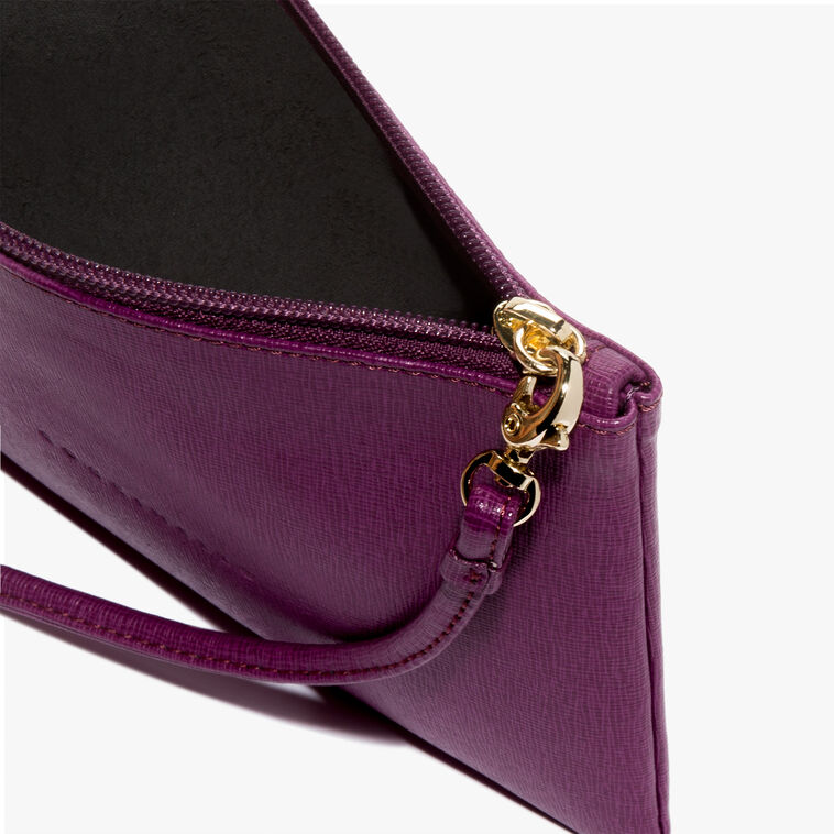 Saffiano clutch