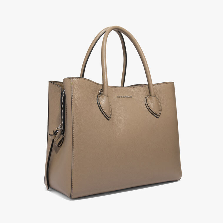 Farisa leather handbag