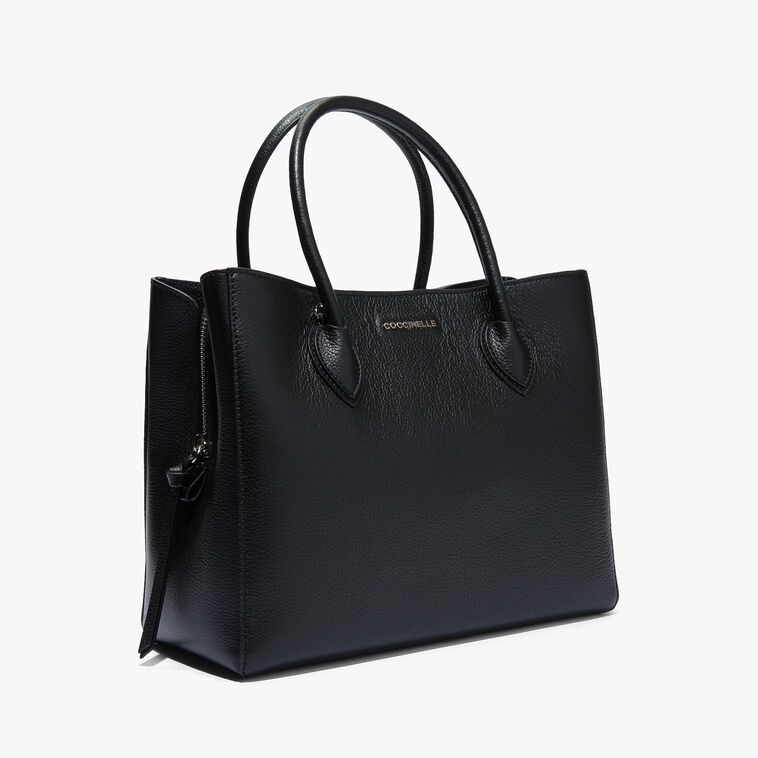 Farisa leather handbag