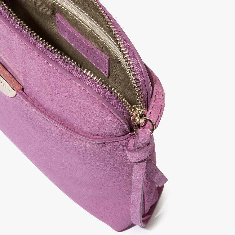 Suede minibag