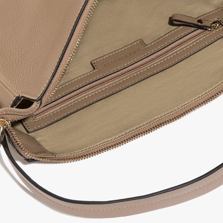 Leather hobo bag
