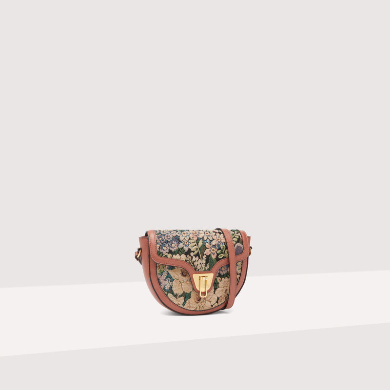 Coccinelle Beat Saddle Small Tapestry