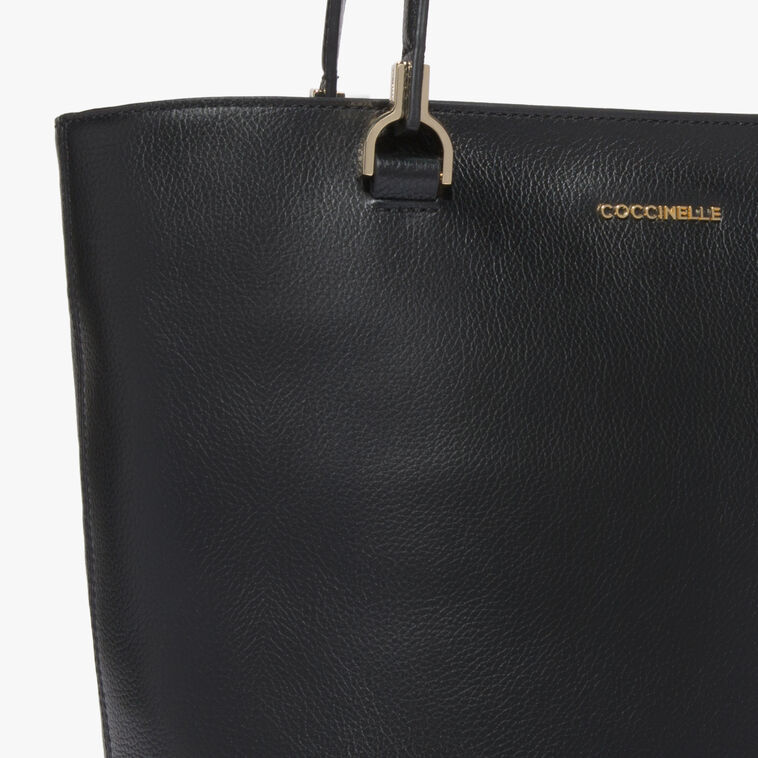 Keyla Leather shopping tote