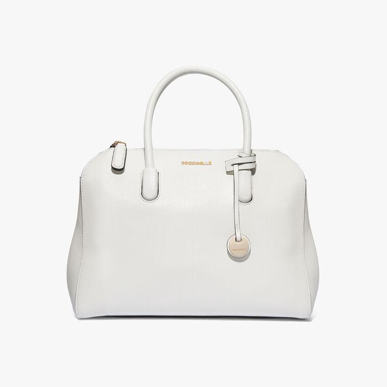 Clementine saffiano leather handbag